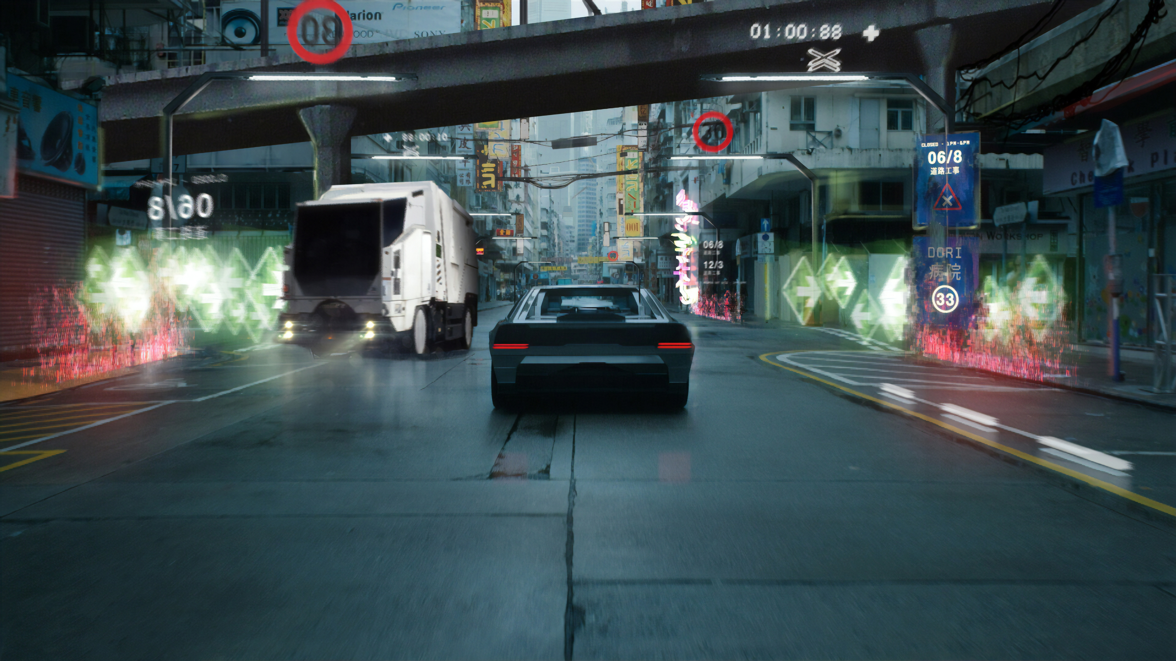Cyberpunk City Ghost In The Shell 4k Hd Artist 4k Wallpapers