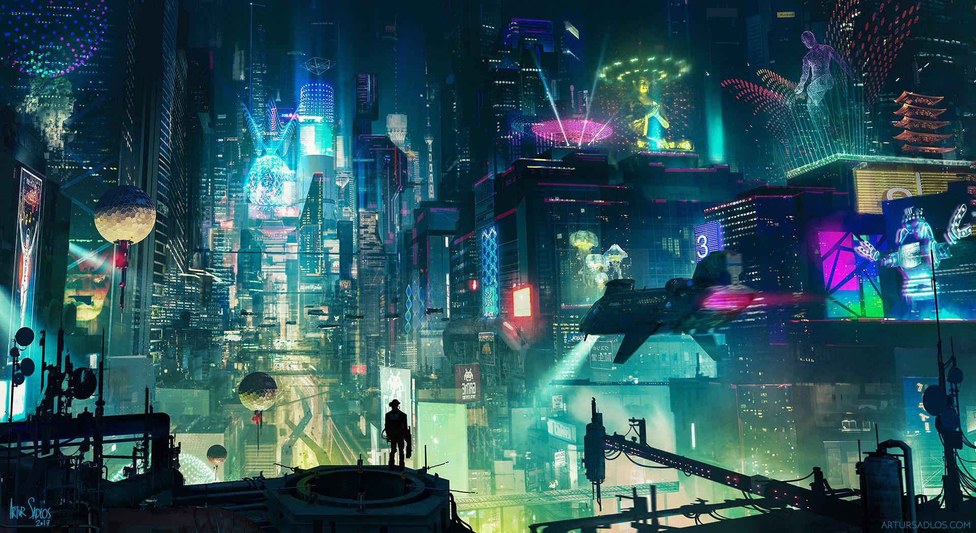 Cyberpunk City, HD Artist, 4k Wallpapers, Images ...