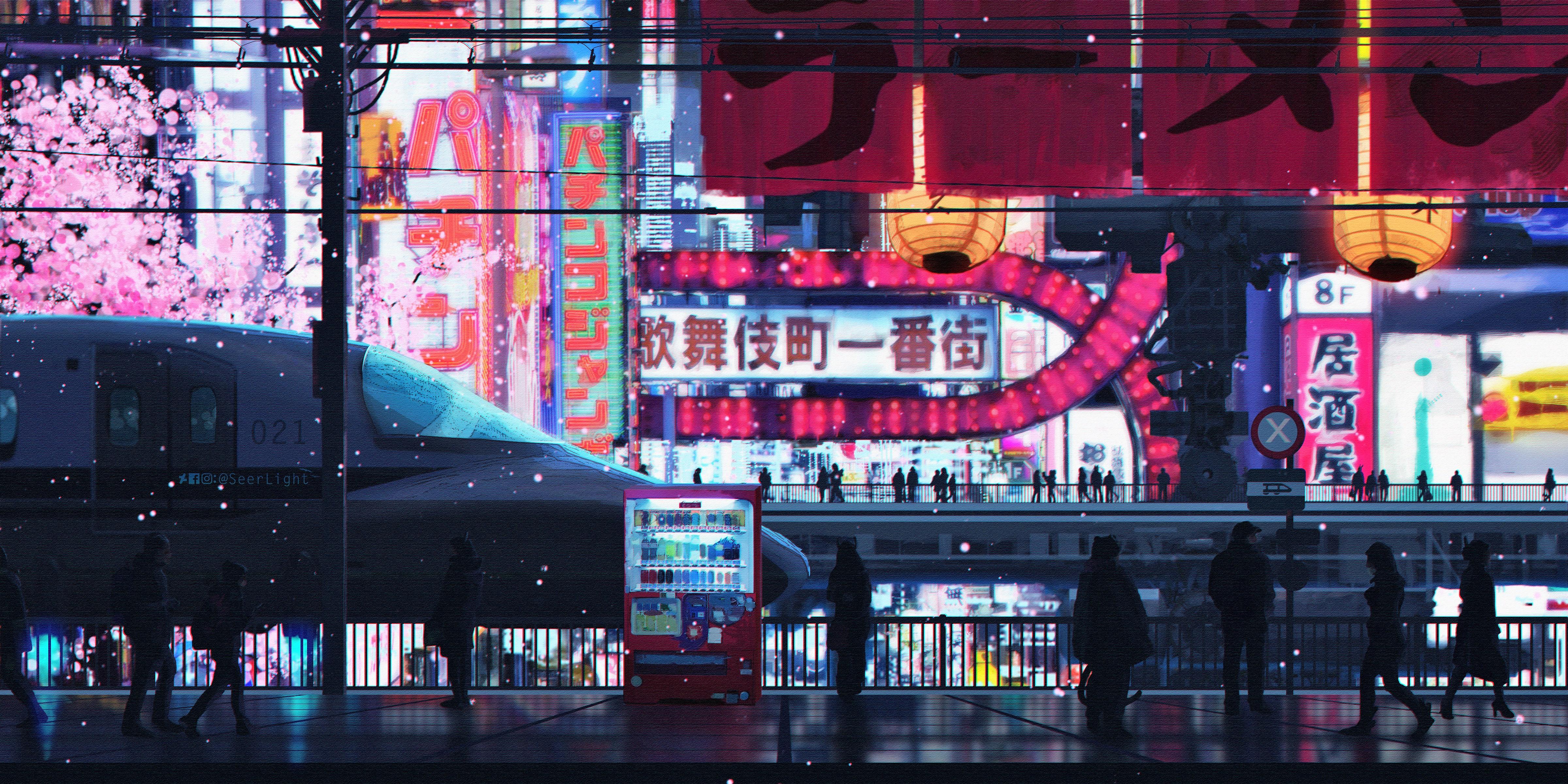 Cyberpunk City Streets 5k HD Artist 4k Wallpapers