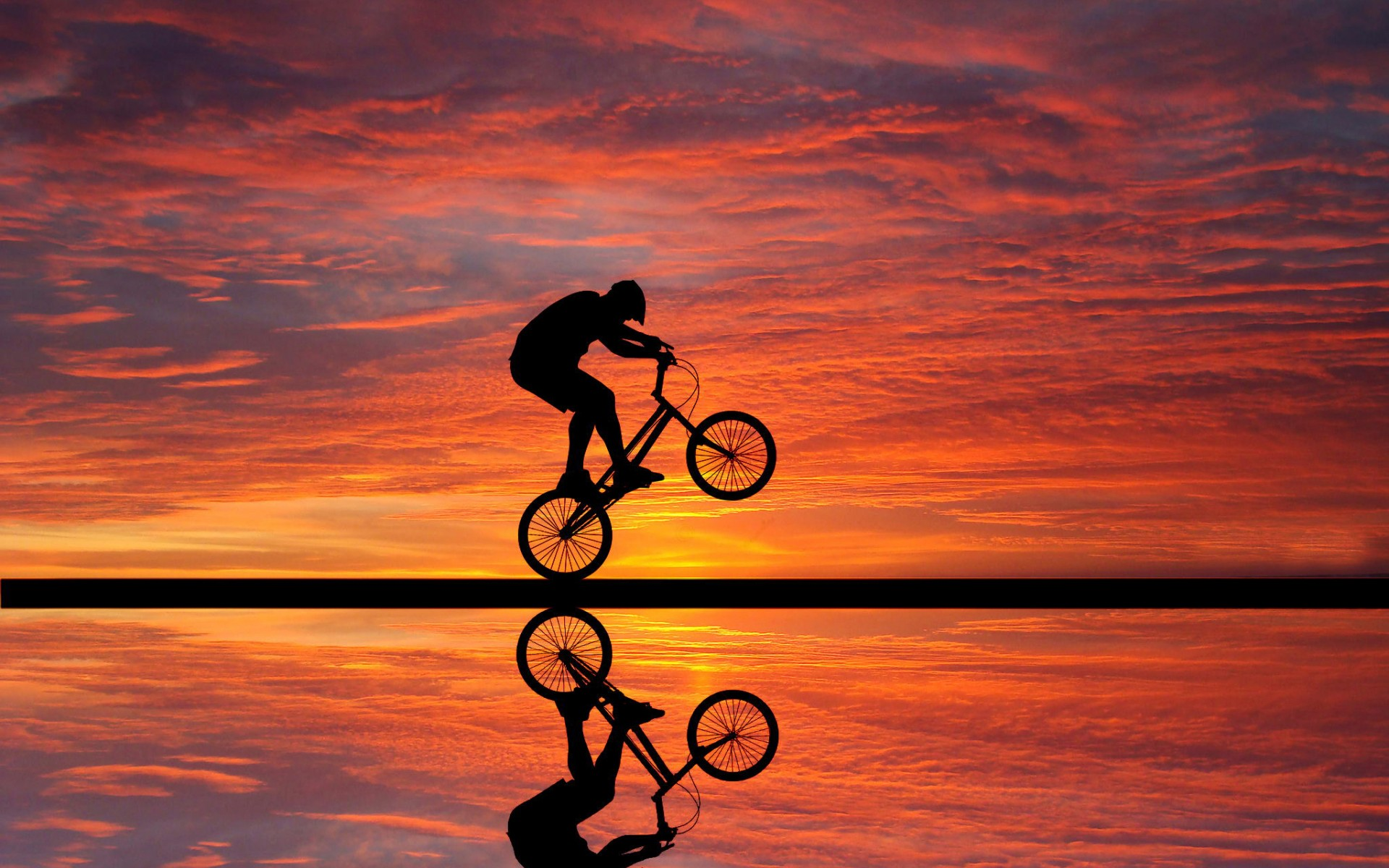 cycling sunset qhd 415 cycle wallpapers