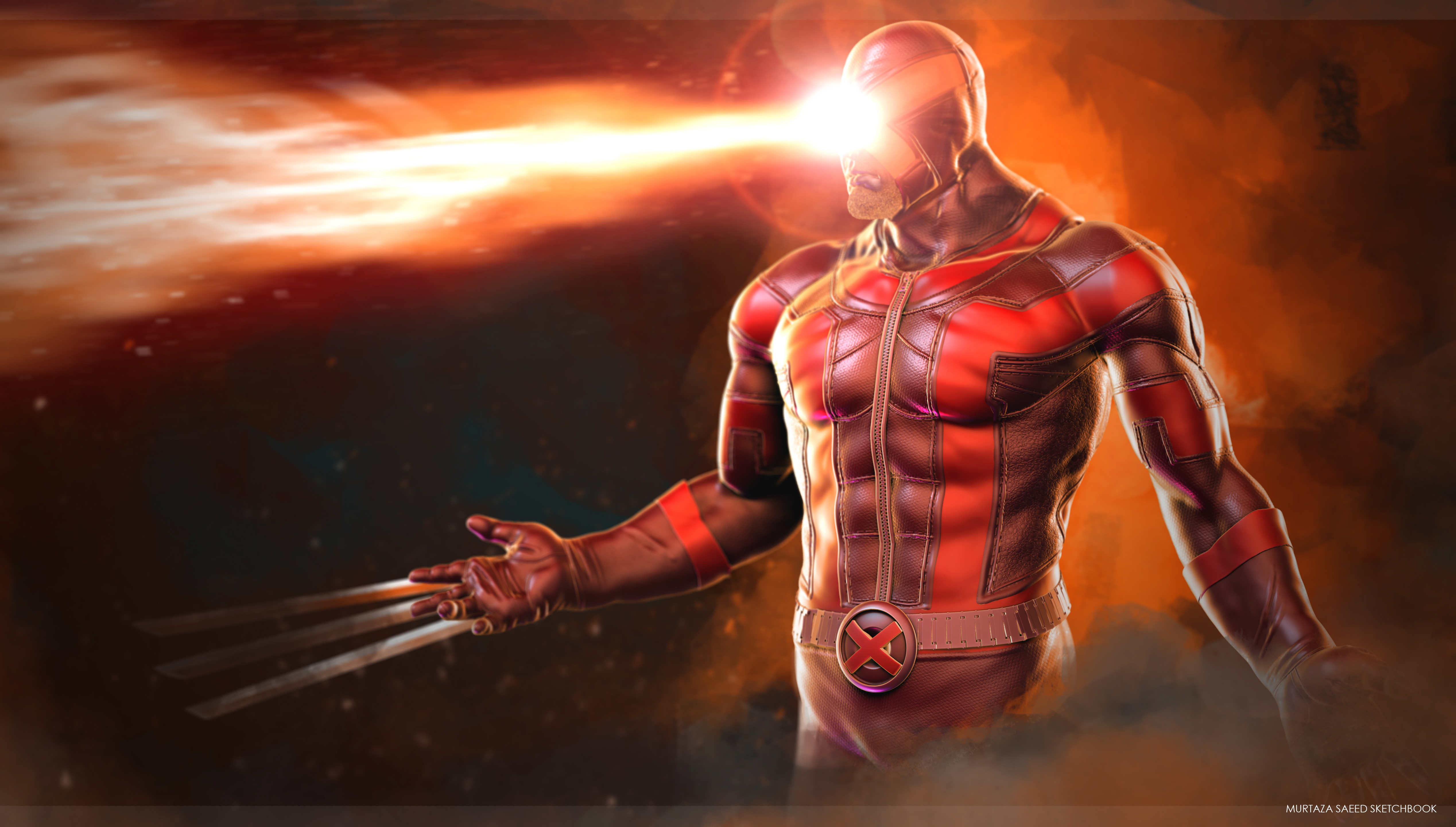 Cyclops daredevil wolverine artwork hd superheroes 4k wallpapers images backgrounds photos - Wallpaper wolverine 4k ...