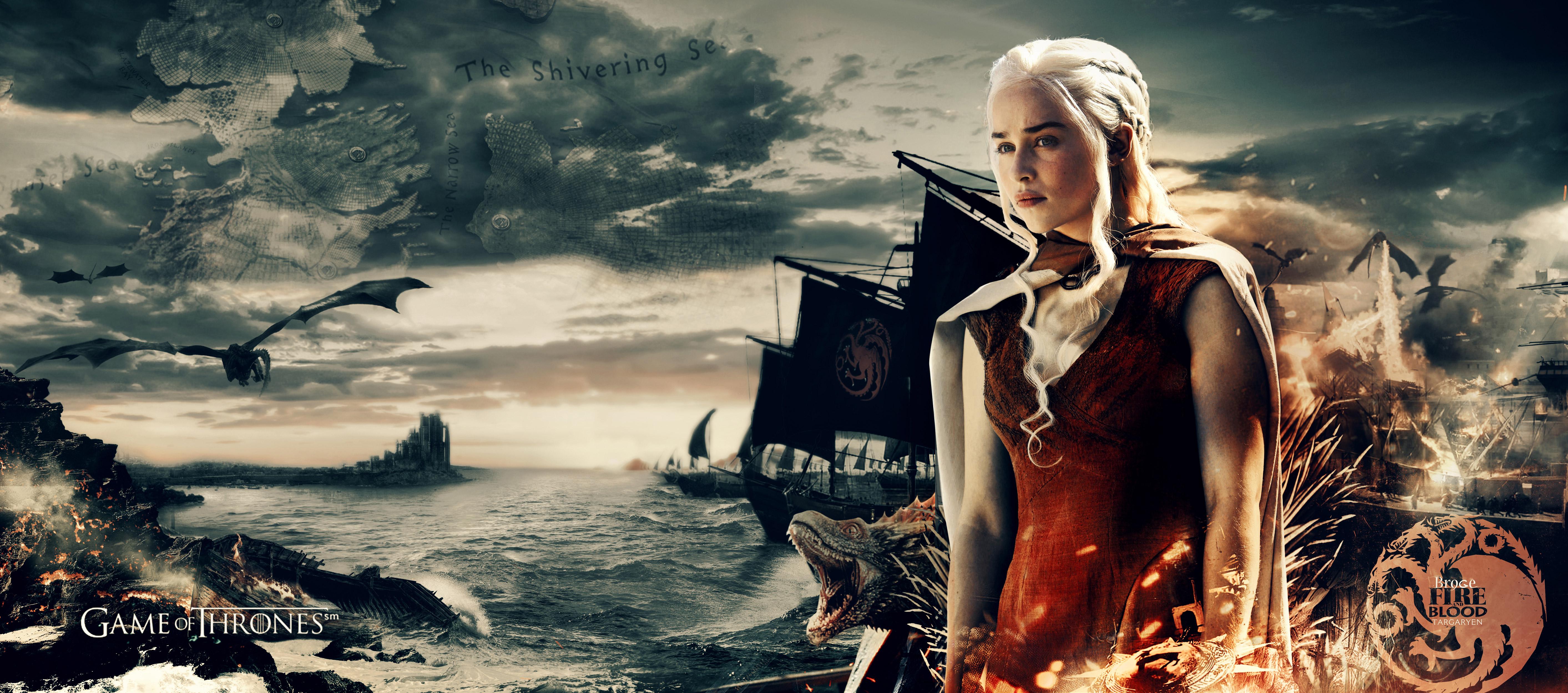 4k Game Of Thrones Wallpaper: Daenerys Targaryen 5k, HD Tv Shows, 4k Wallpapers, Images