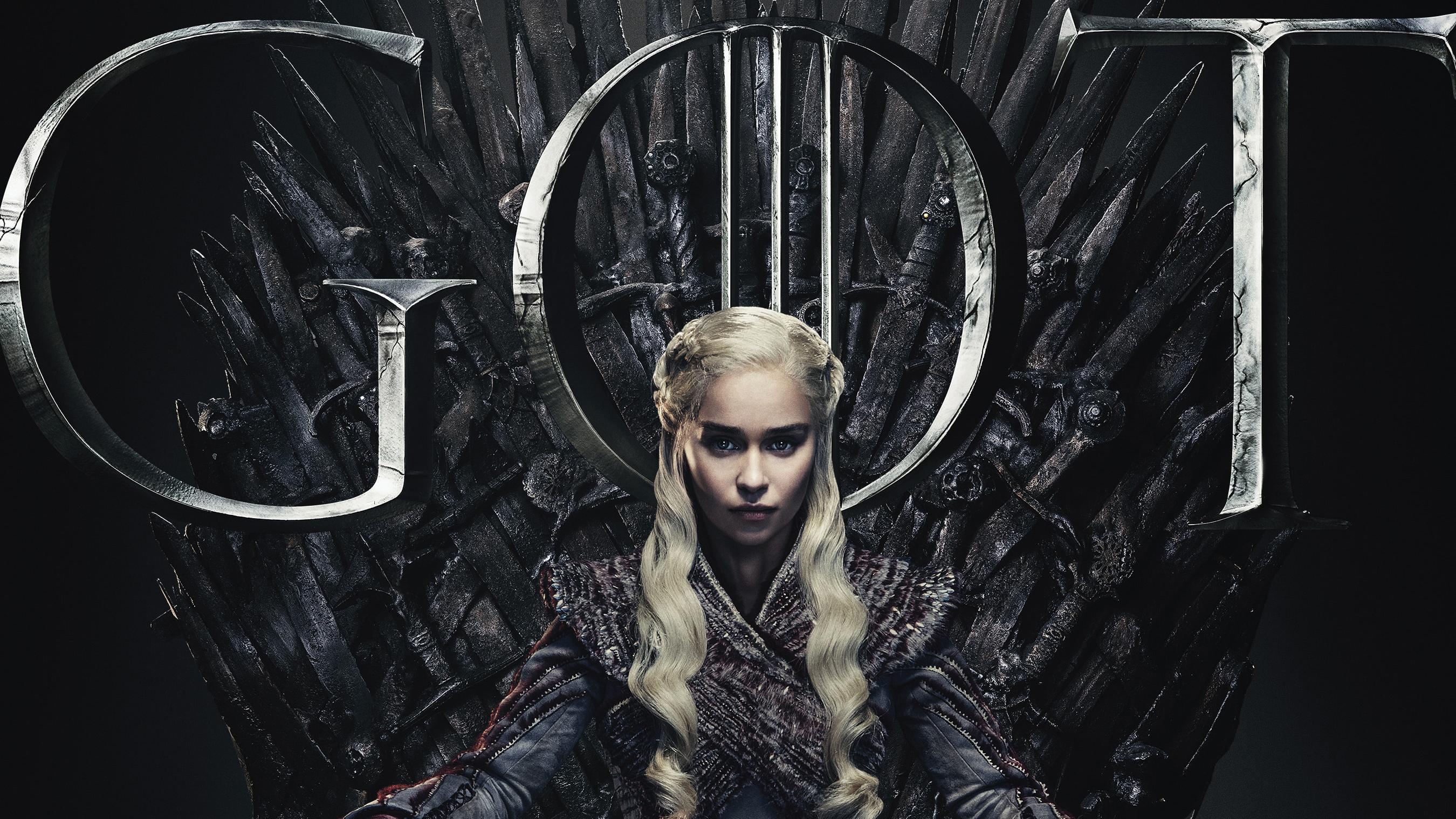 Daenerys Targaryen Game Of Thrones Season 8 Poster Hd Tv