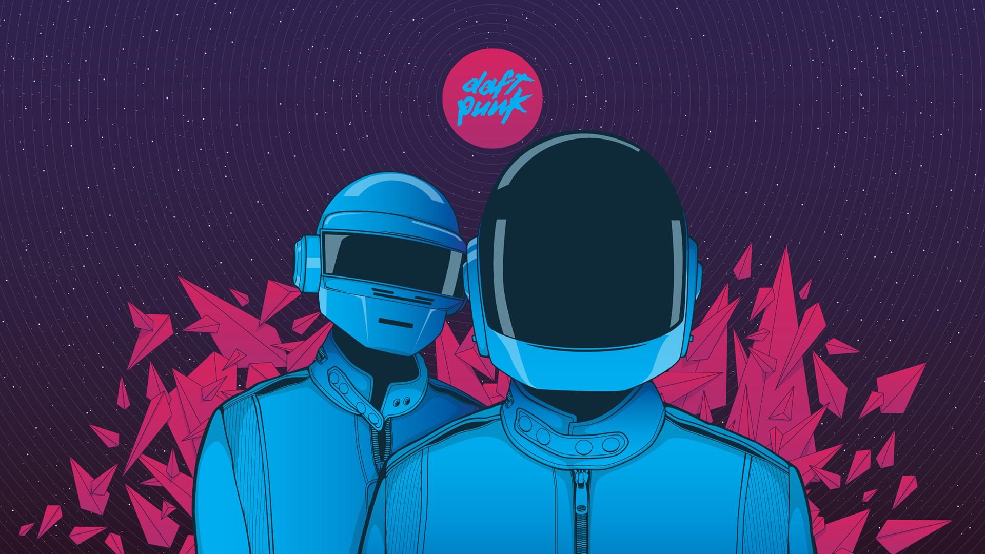 Daft Punk Minimalism 2, HD Music, 4k Wallpapers, Images ...