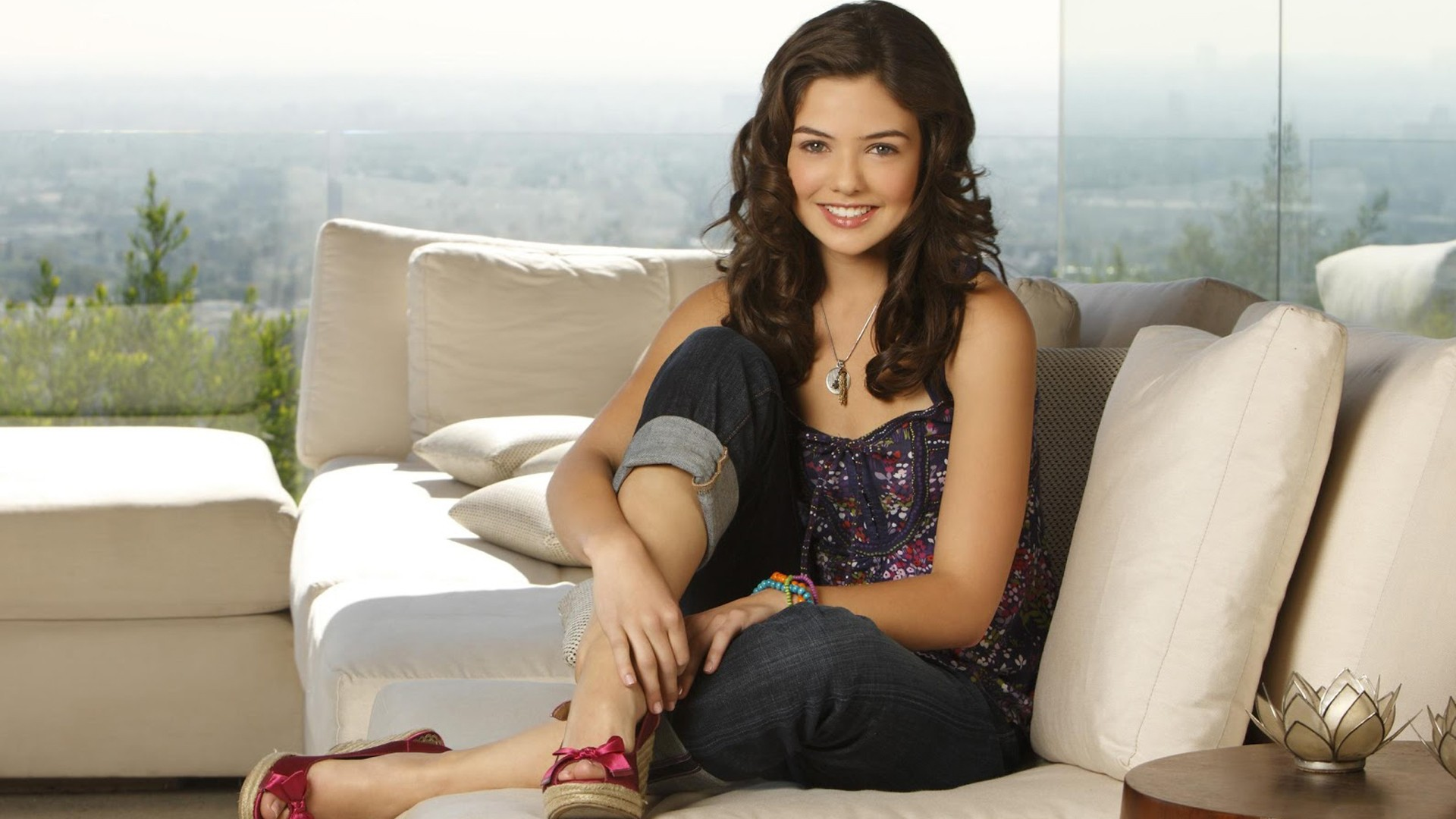 Danielle Campbell Smiling