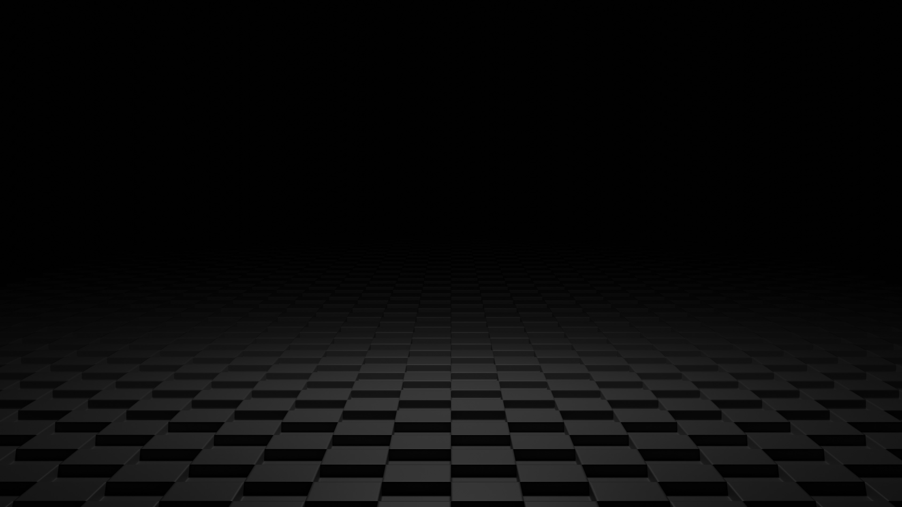 Dark 3d Shapes Floor Hd Abstract 4k Wallpapers Images