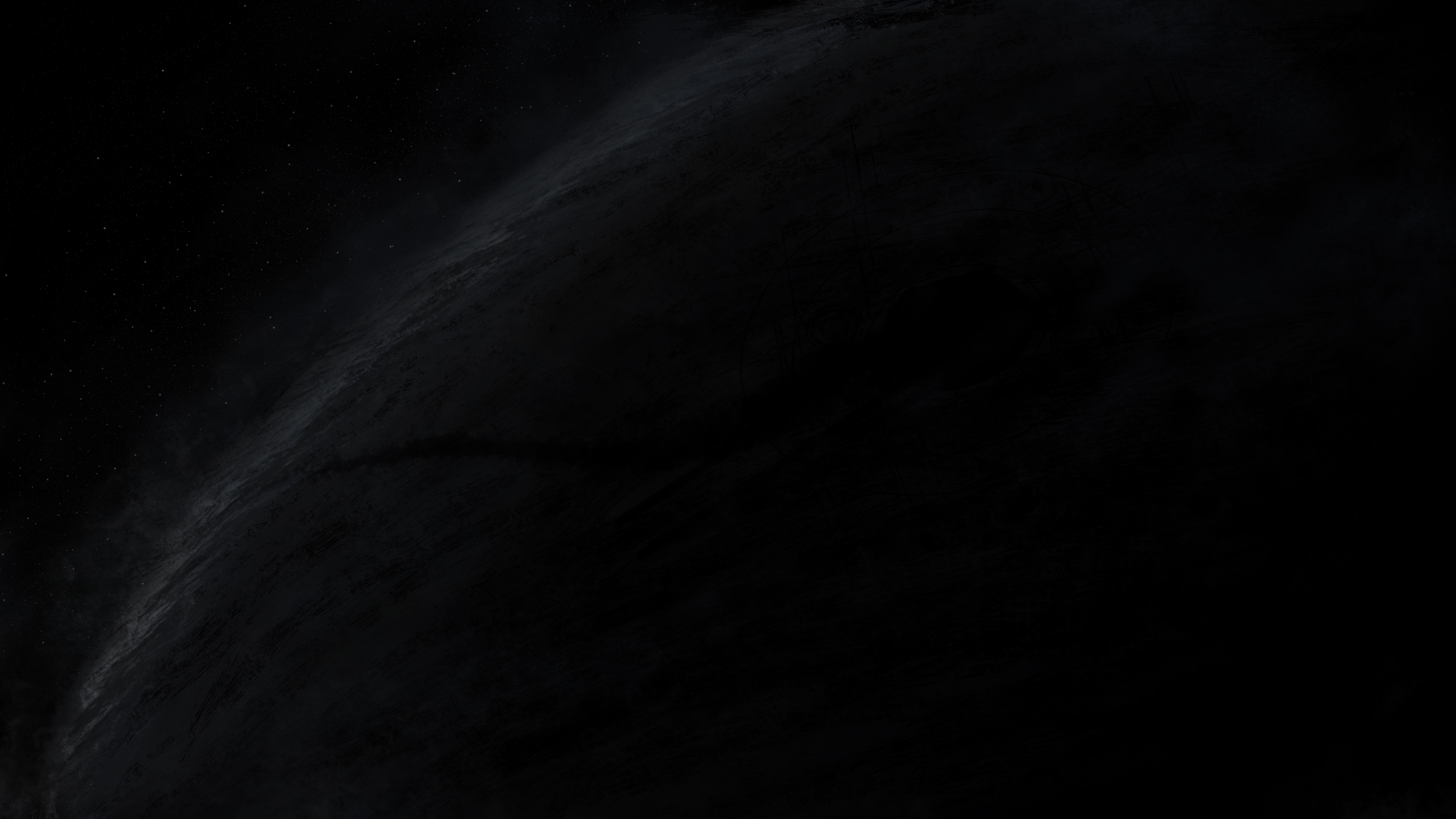 7680x4320 Dark Black Simple Background 8k 8k Hd 4k