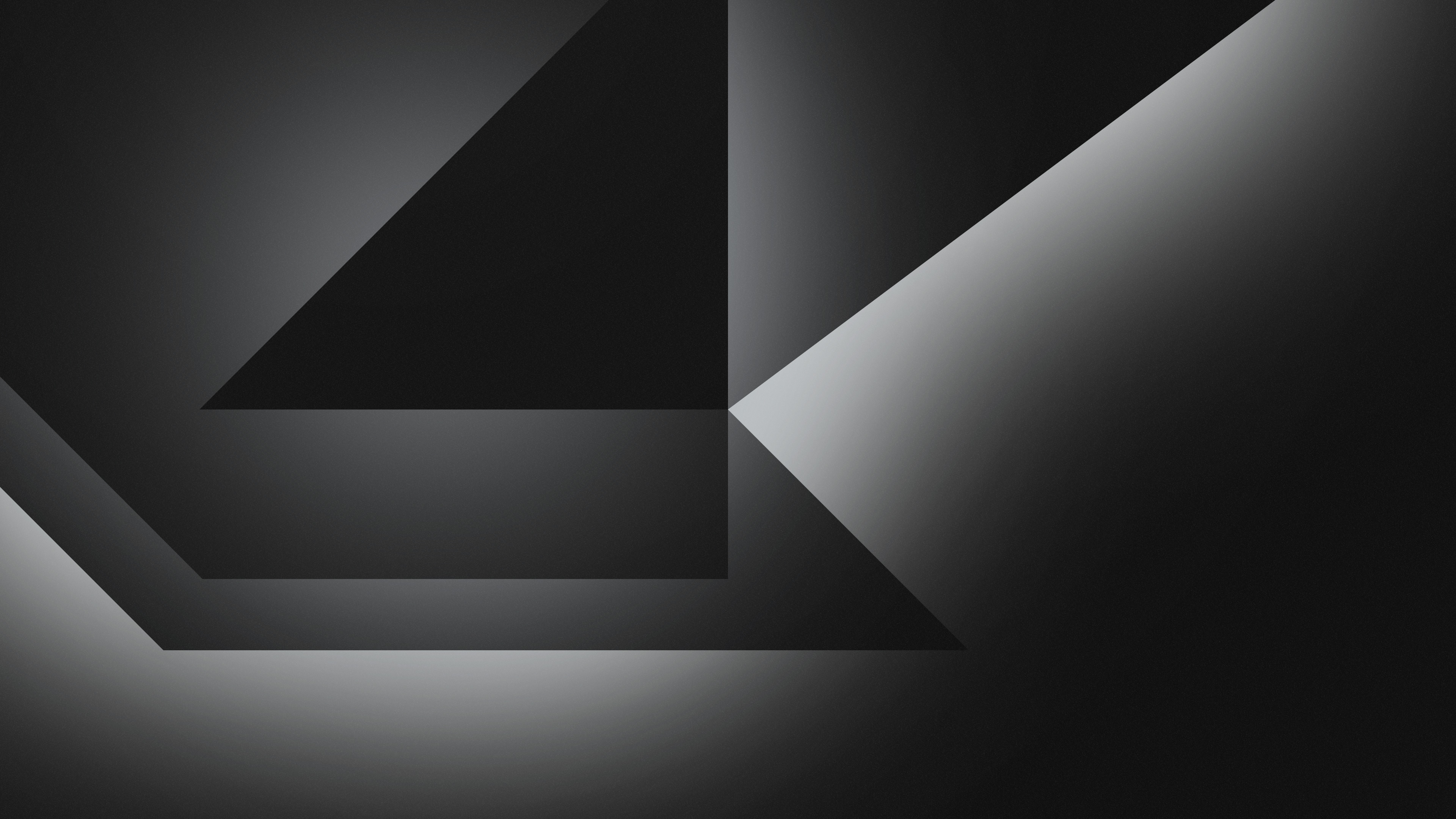 1680x1050 Dark Grey Abstract Shapes 4k 1680x1050 Resolution