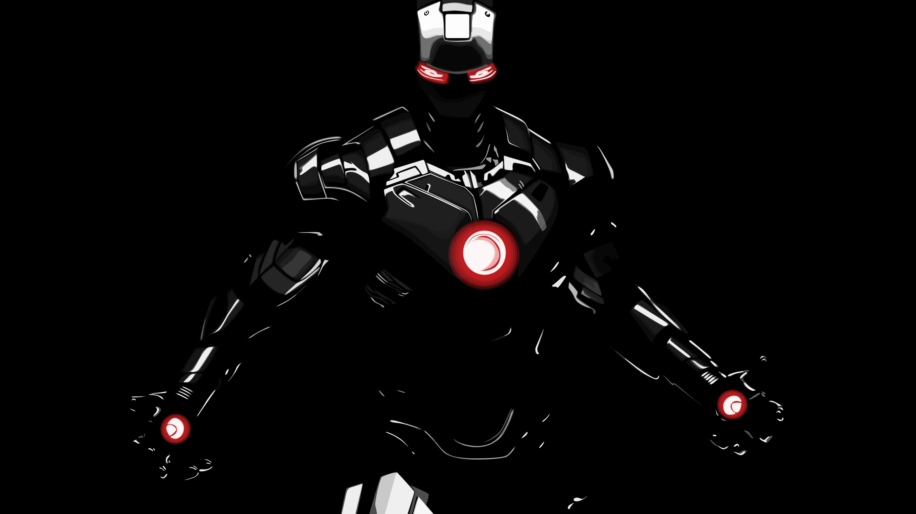 Dark Iron Man Hd Superheroes 4k Wallpapers Images Backgrounds