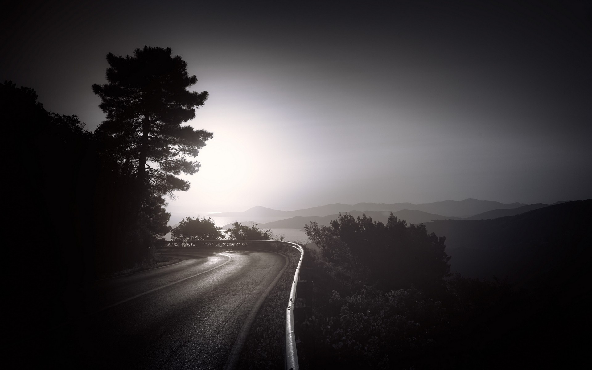 Dark Road HD Nature 4k Wallpapers Images Backgrounds Photos And