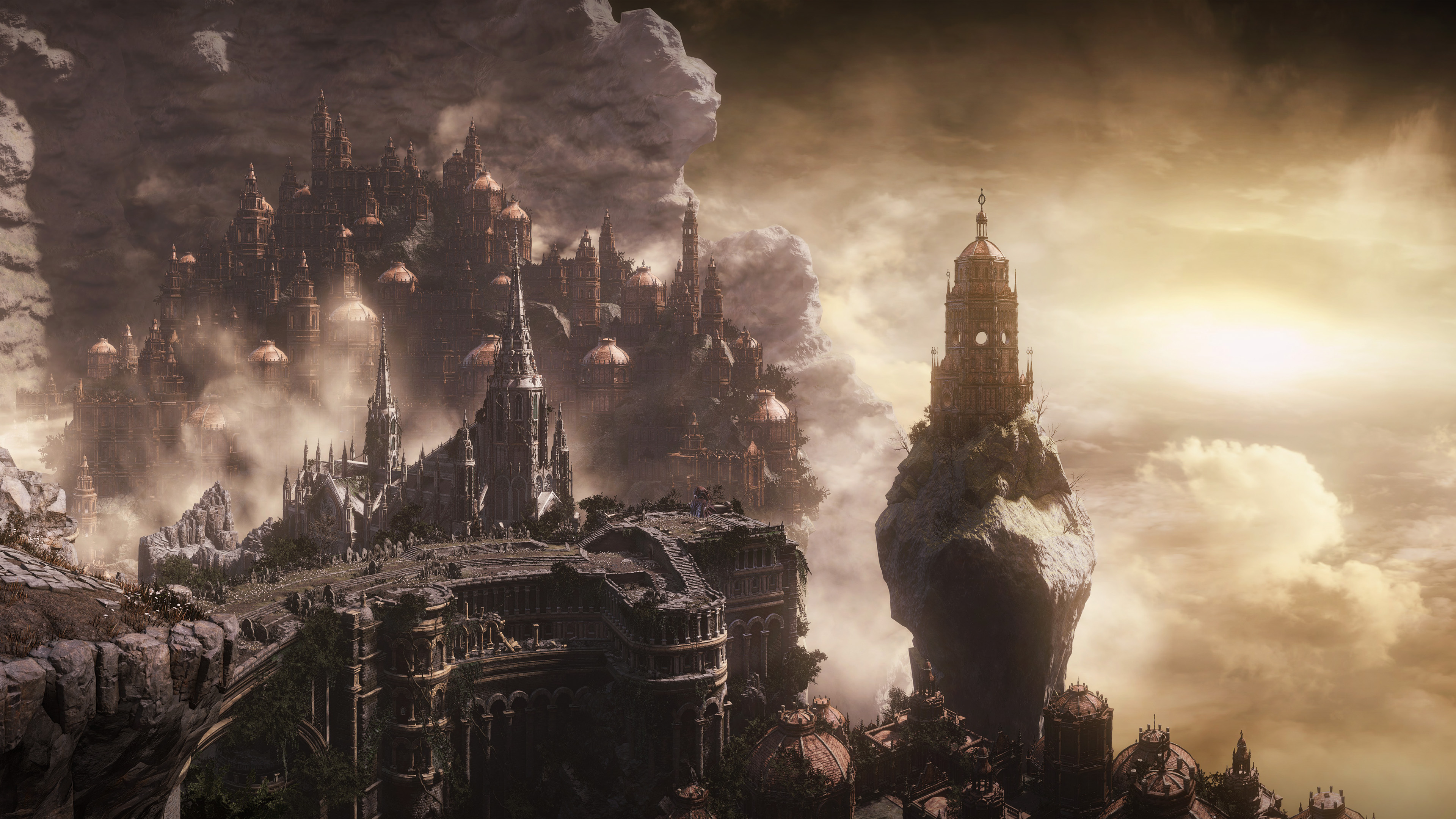 1920x1080 Dark Souls 3 City Fantasy Laptop Full HD 1080P