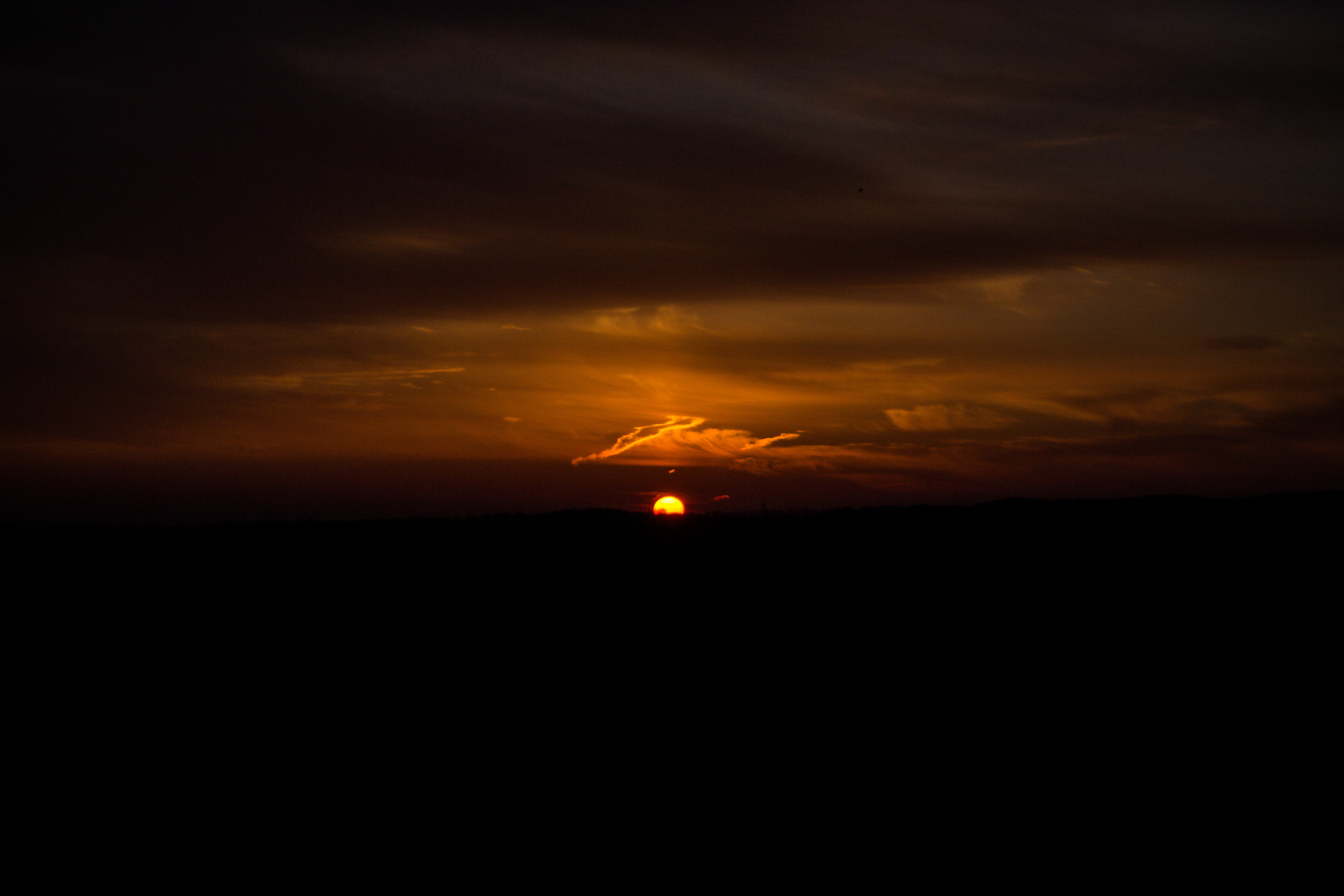 Dark Sunset Evening 4k, HD Nature, 4k Wallpapers, Images ...