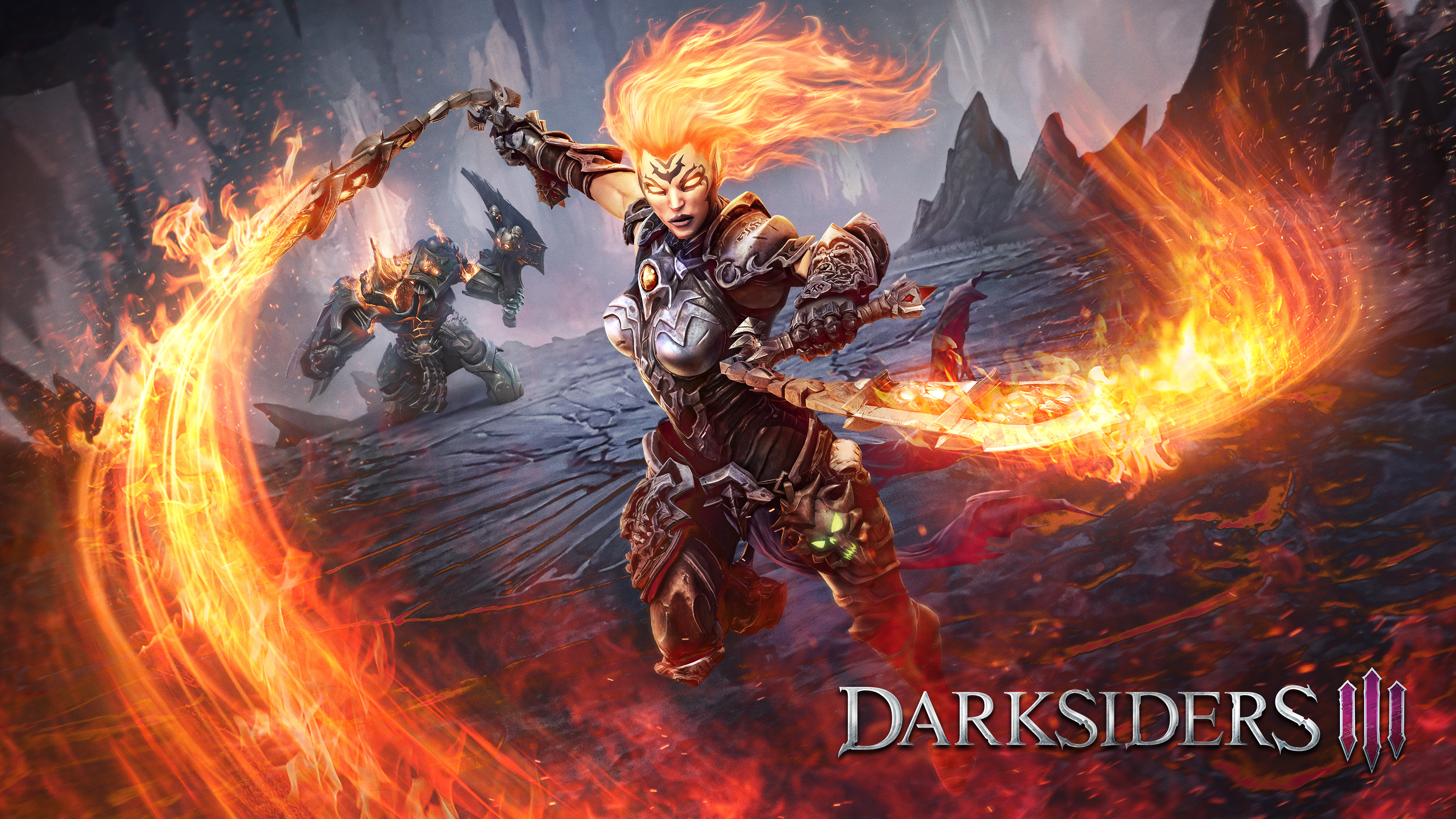 Darksiders Iii 4k Hd Games 4k Wallpapers Images Backgrounds