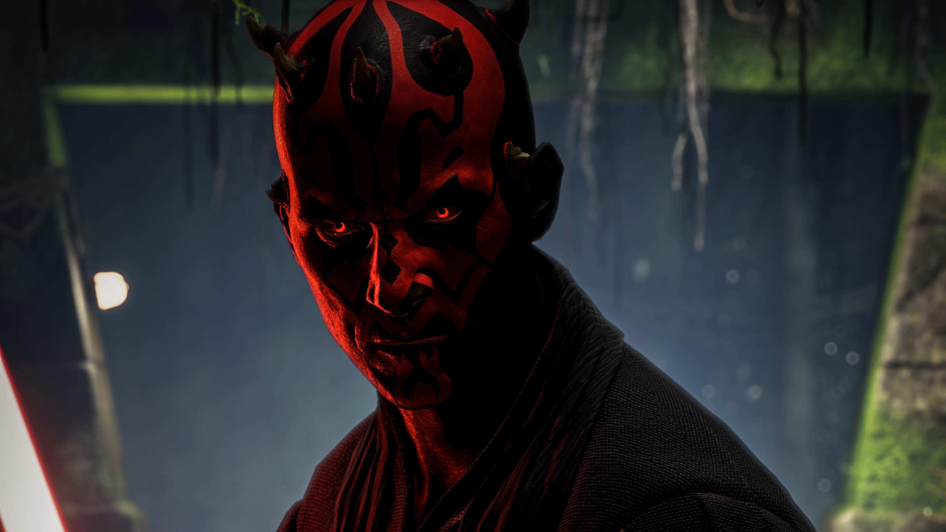 Darth Maul Star Wars Battlefront 2 4k Hd Games 4k
