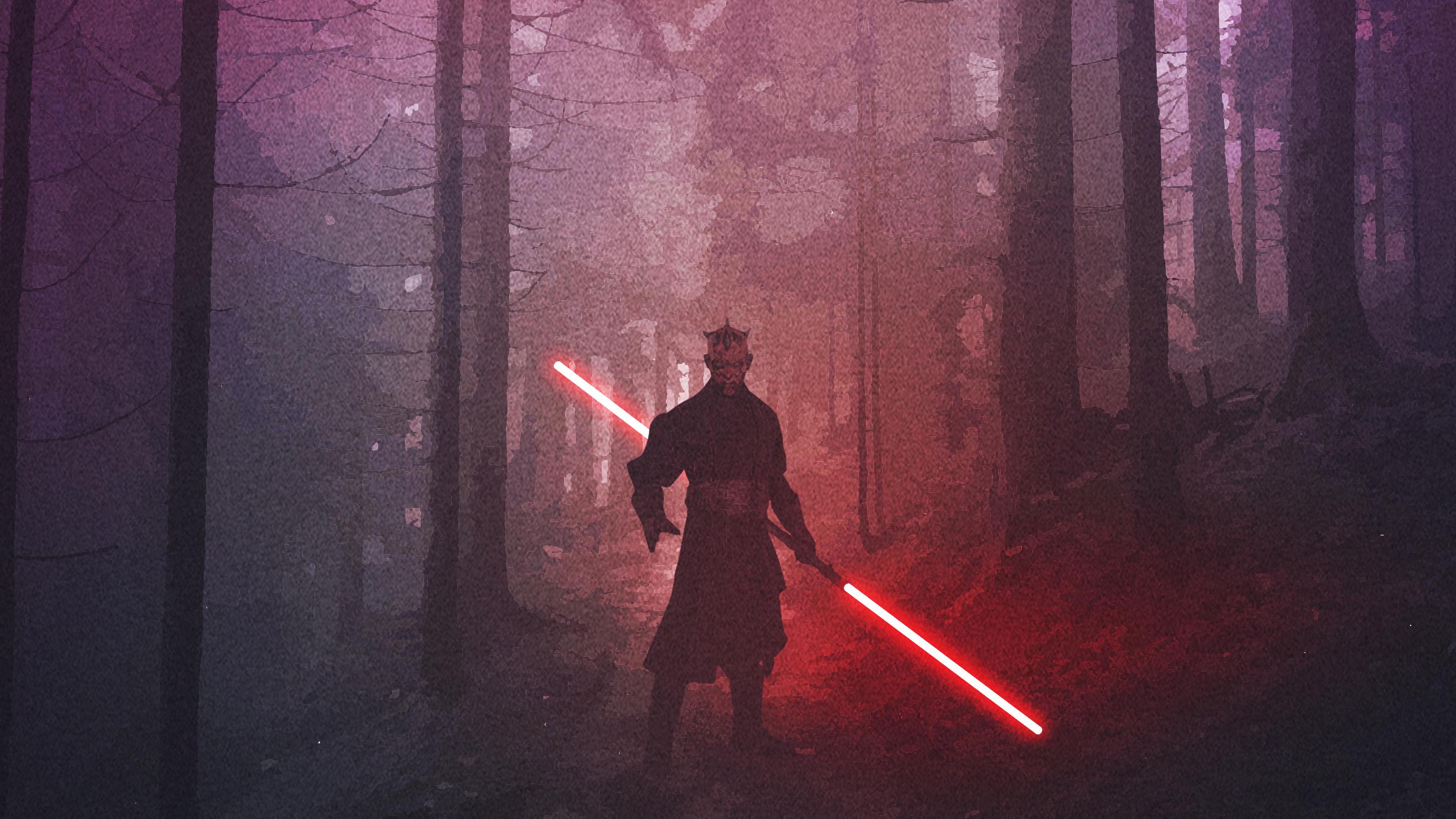 Darth Maul Star Wars Fanart, HD Superheroes, 4k Wallpapers ...