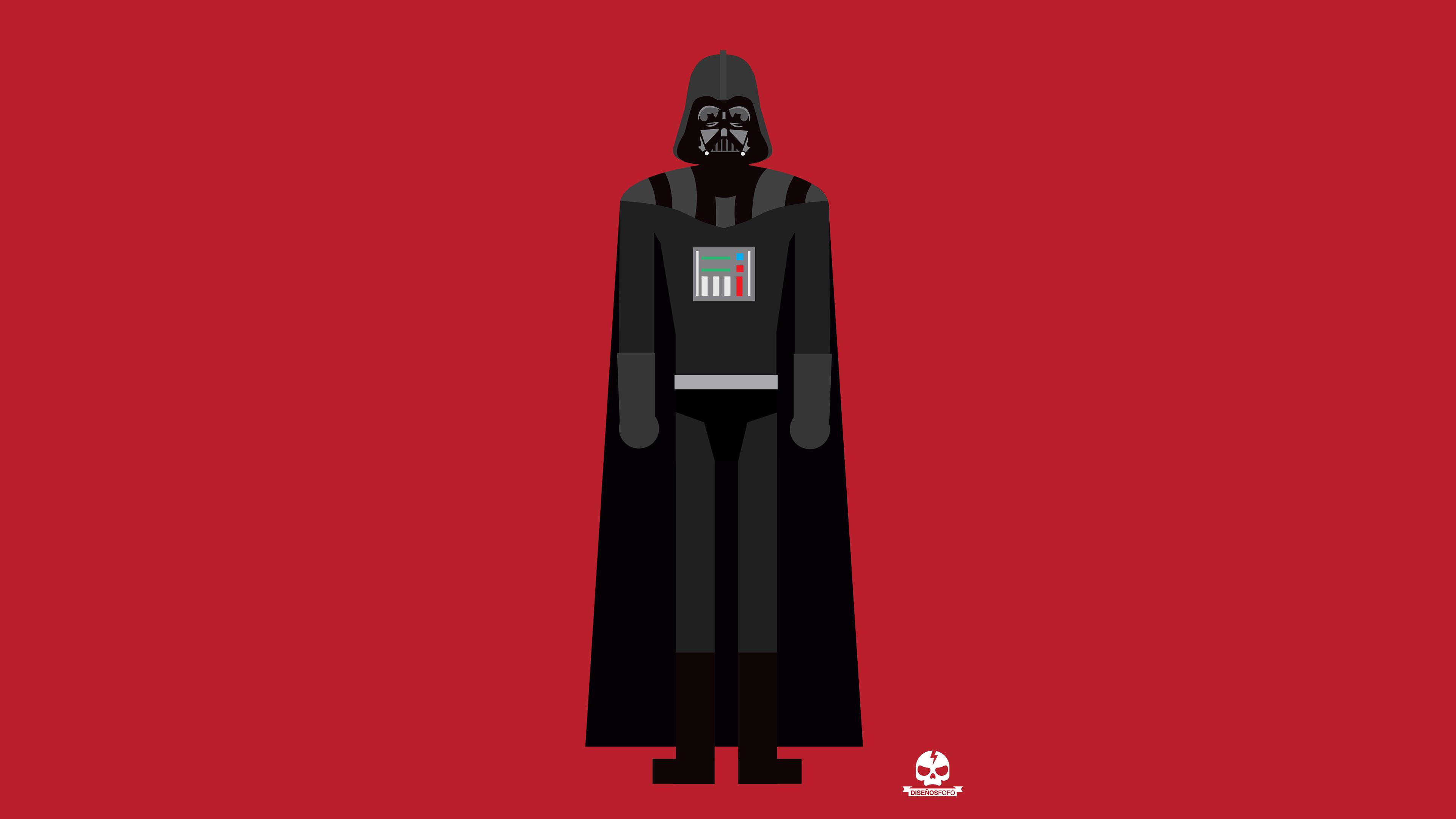 750x1334 Darth Vader 4k Minimalism Iphone 6 Iphone 6s