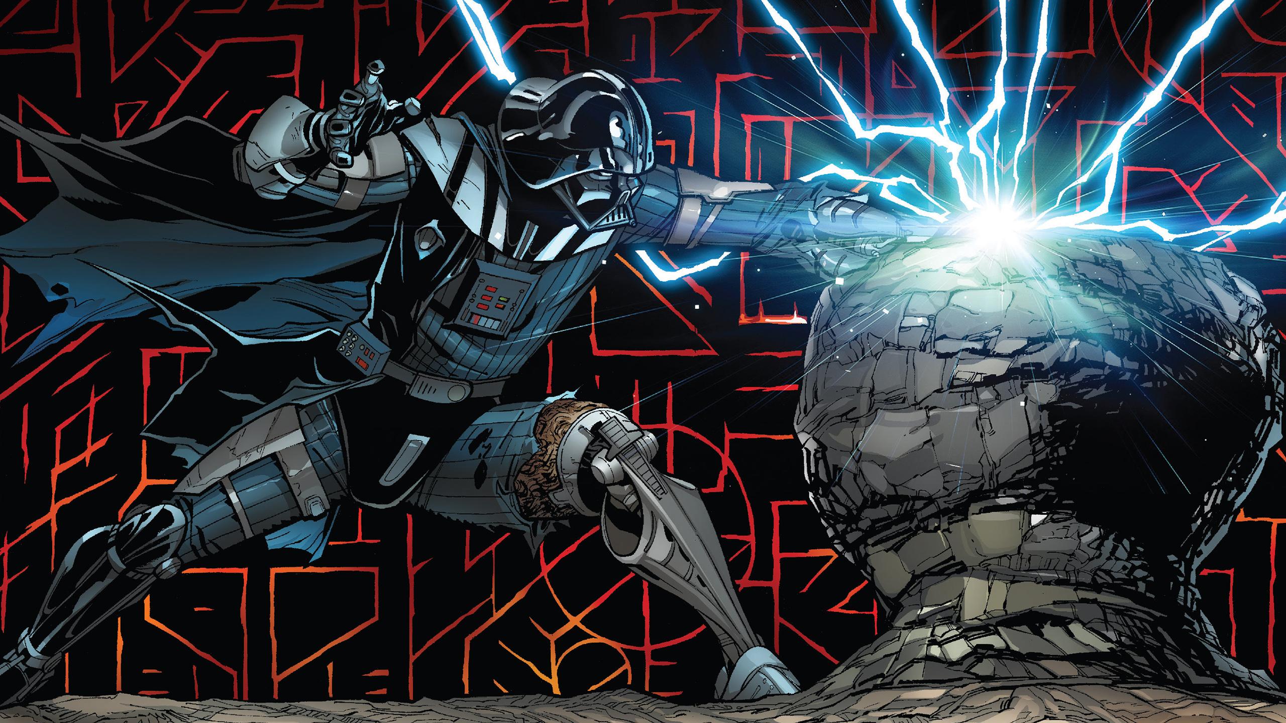 Darth Vader Comic Art, HD Superheroes, 4k Wallpapers