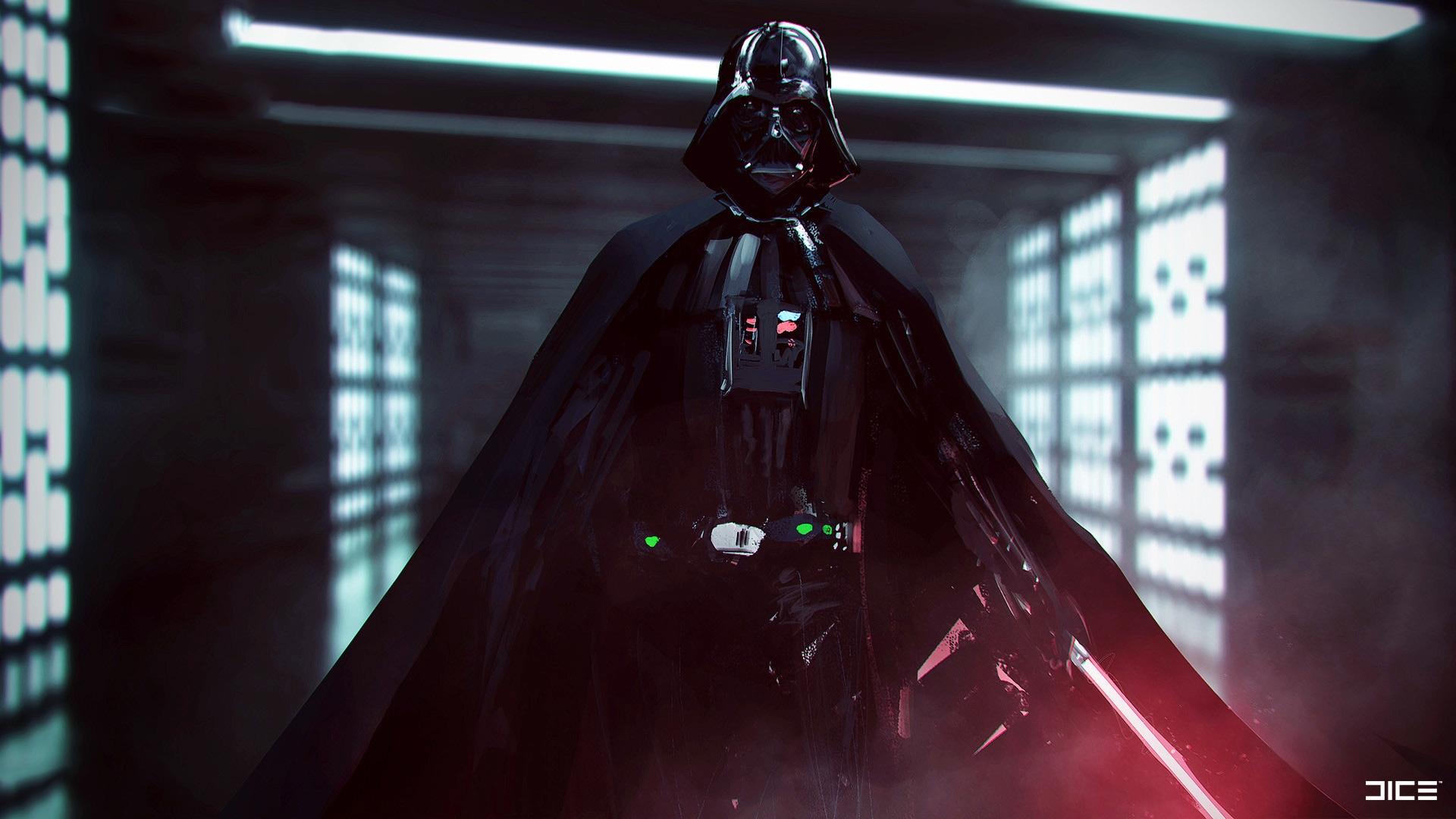 Darth Vader Star Wars Battlefront 2 Concept Art Hd Games