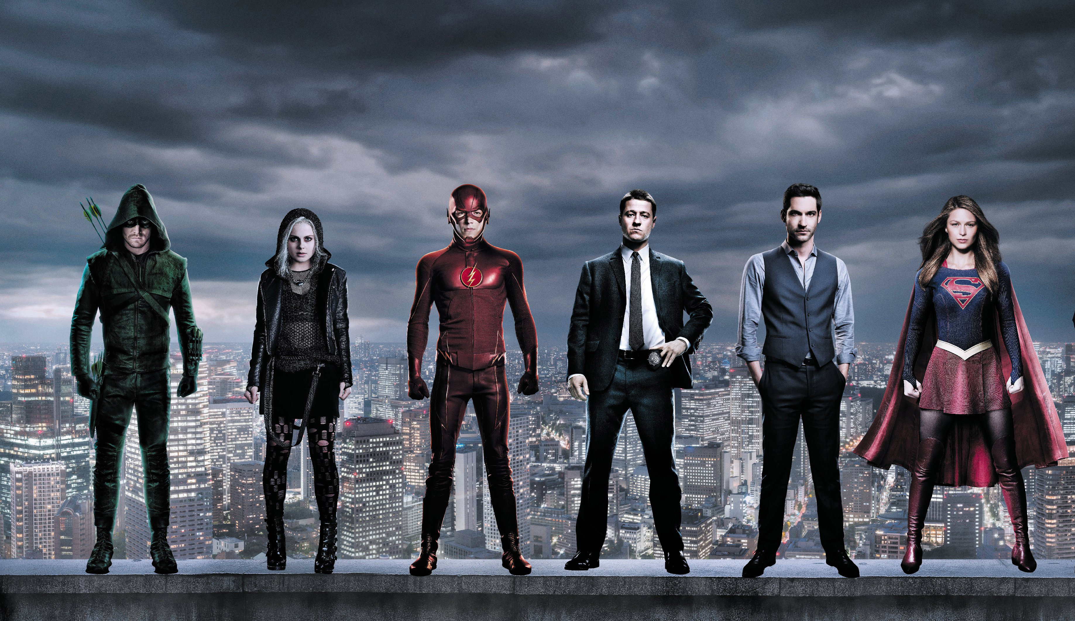 Dc the cw superheroes hd tv shows 4k wallpapers images backgrounds photos and pictures - Dc characters wallpaper hd ...