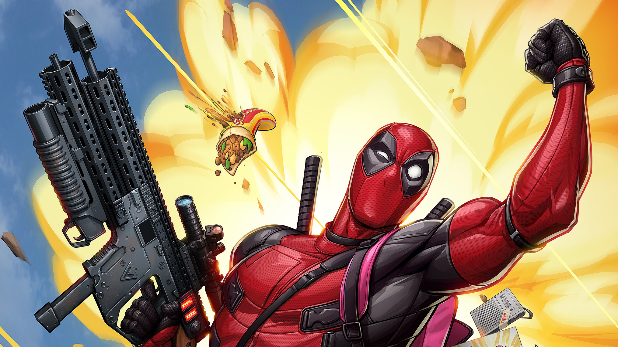 Deadpool 2 Movie Imax Poster, HD Movies, 4k Wallpapers