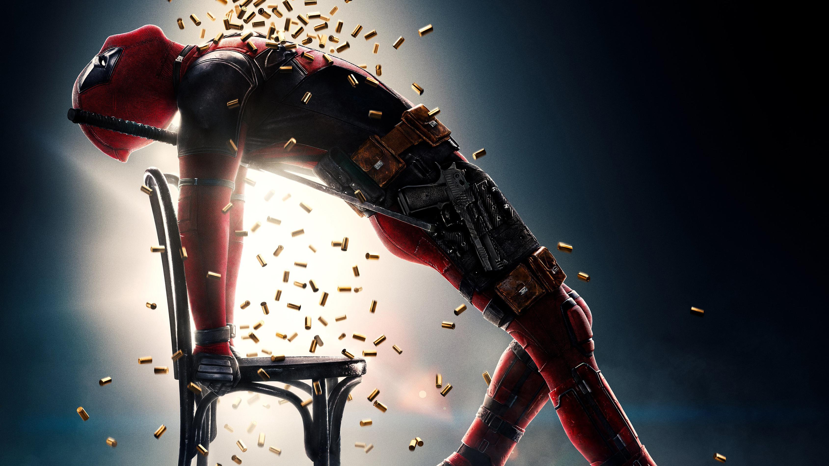 Deadpool 2 Movie Poster 4k, HD Movies, 4k Wallpapers