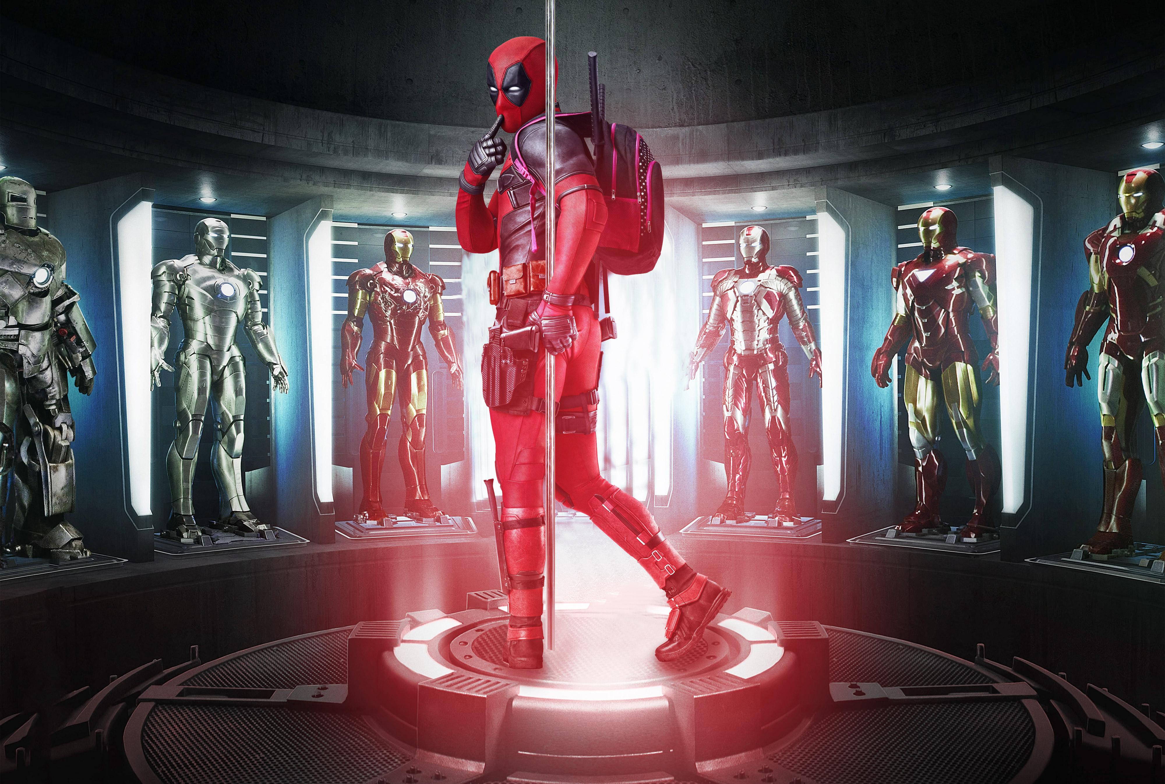 Deadpool 2017 Fan Made Poster, HD Movies, 4k Wallpapers