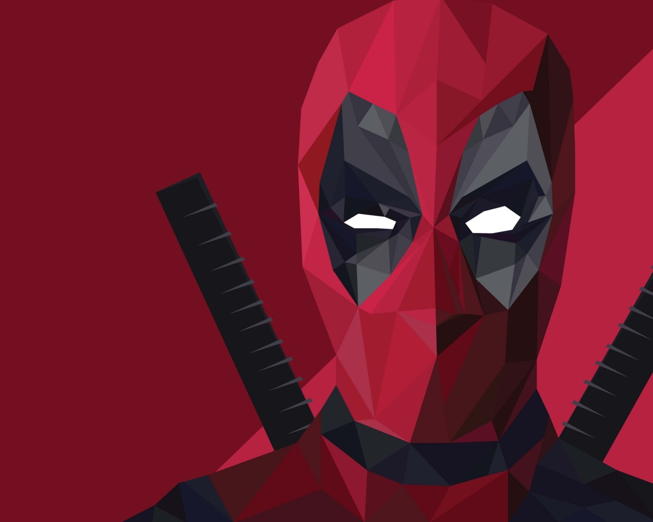 Deadpool Abstract Art IPhone 4 4S