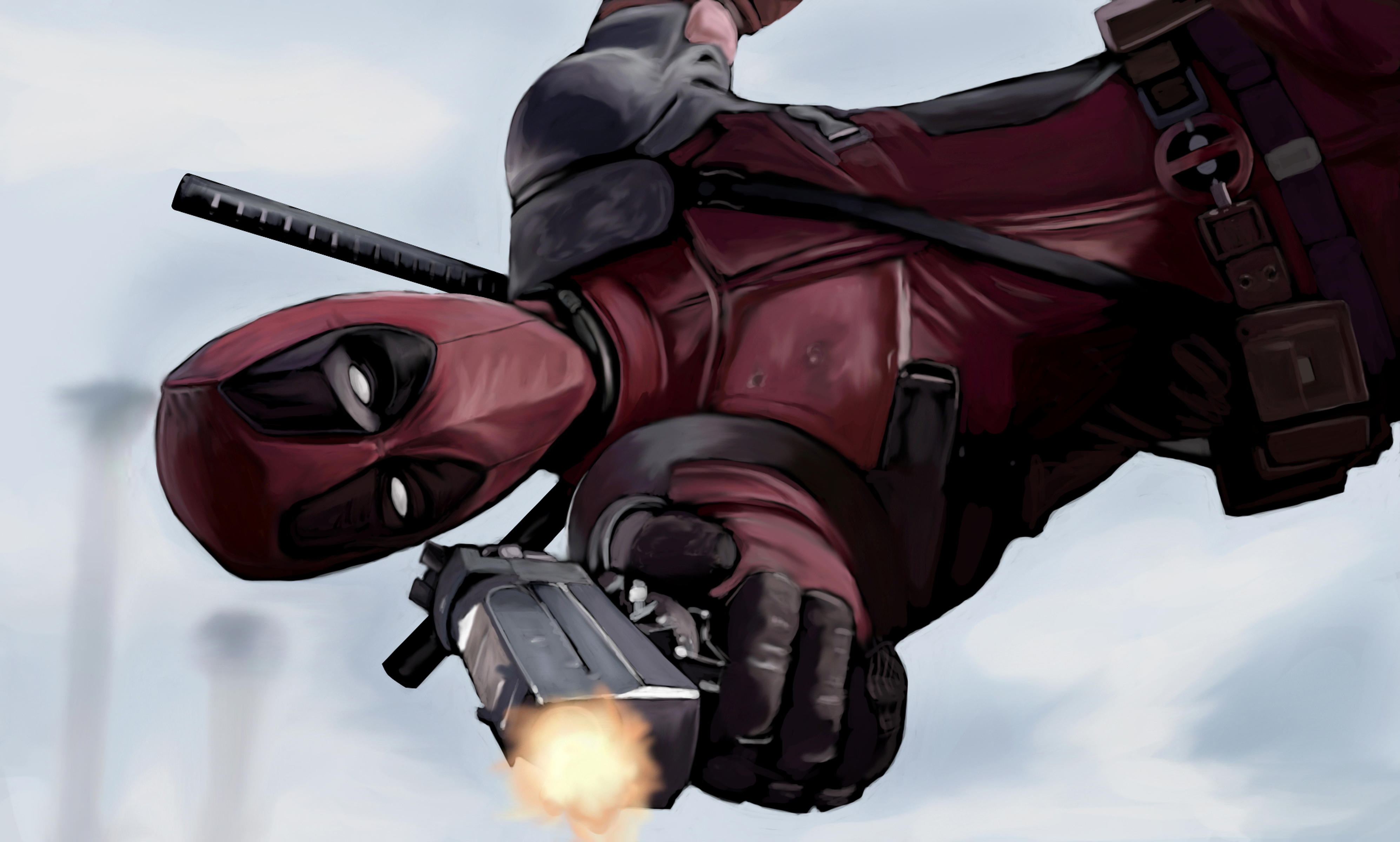 Deadpool Artwork 4k Hd Superheroes 4k Wallpapers Images