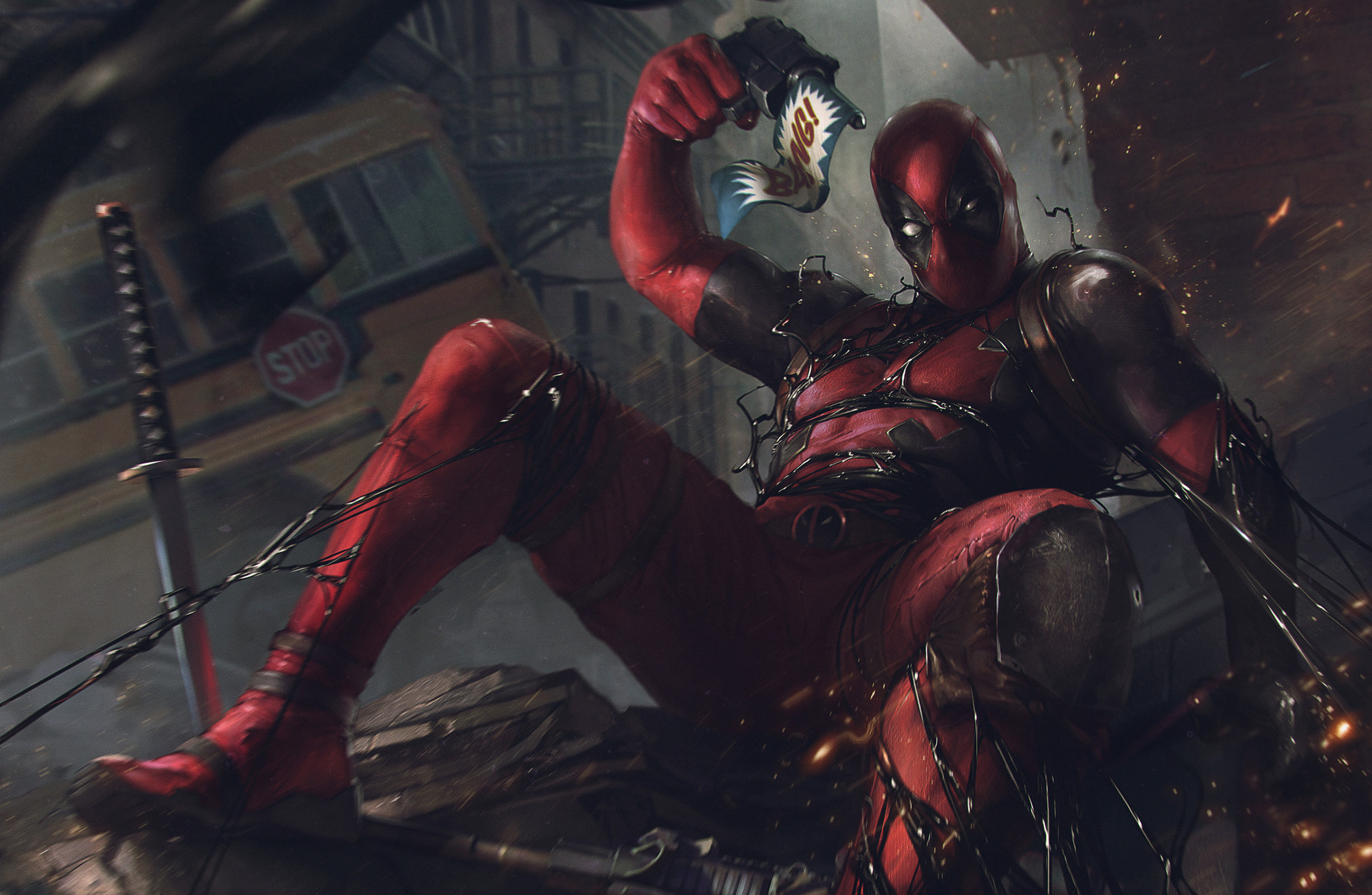 Deadpool Vs Venom Symbiote Hd Superheroes 4k Wallpapers Images
