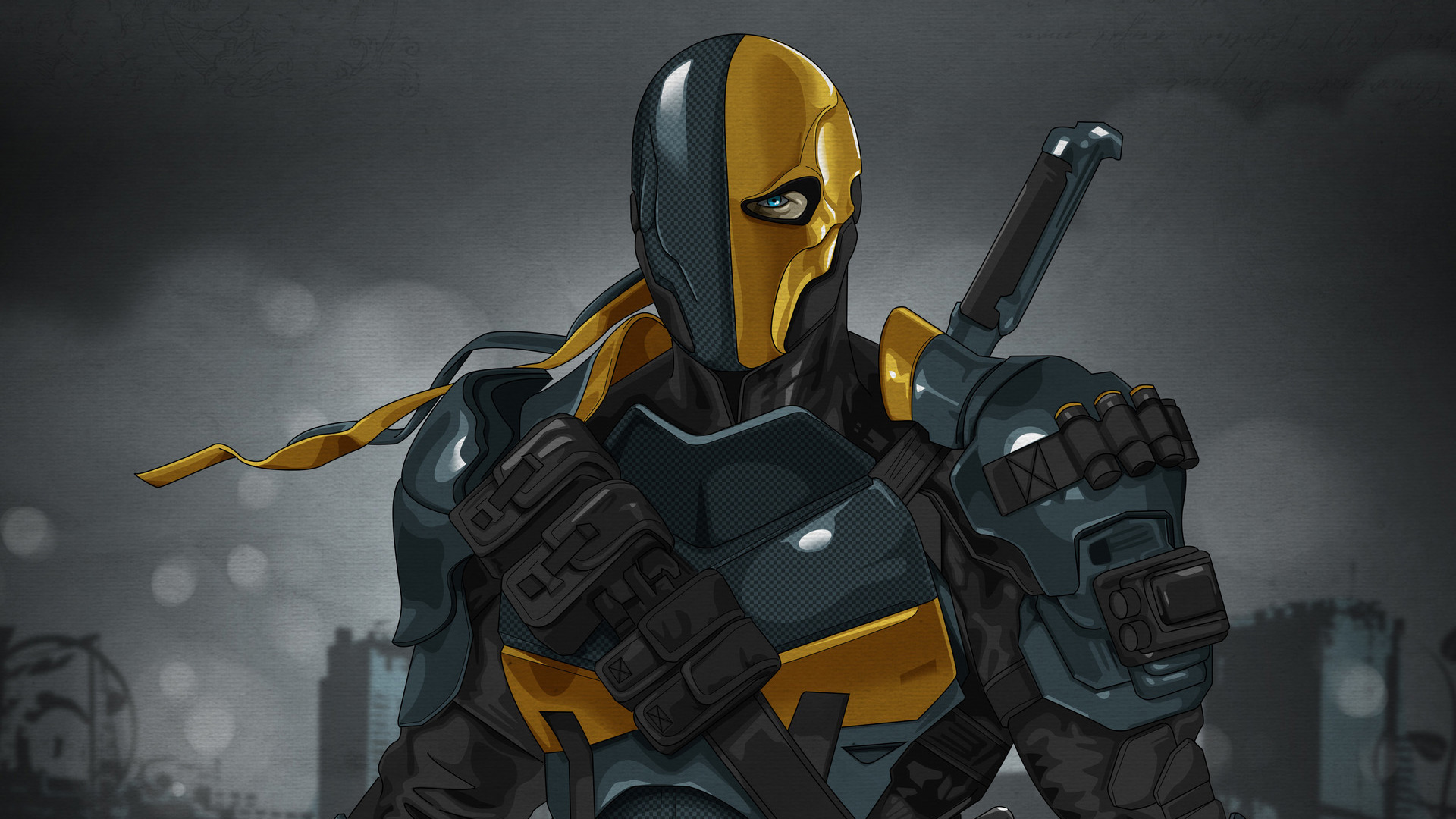 Deathstroke Dc Comics Art, HD Superheroes, 4k Wallpapers ...