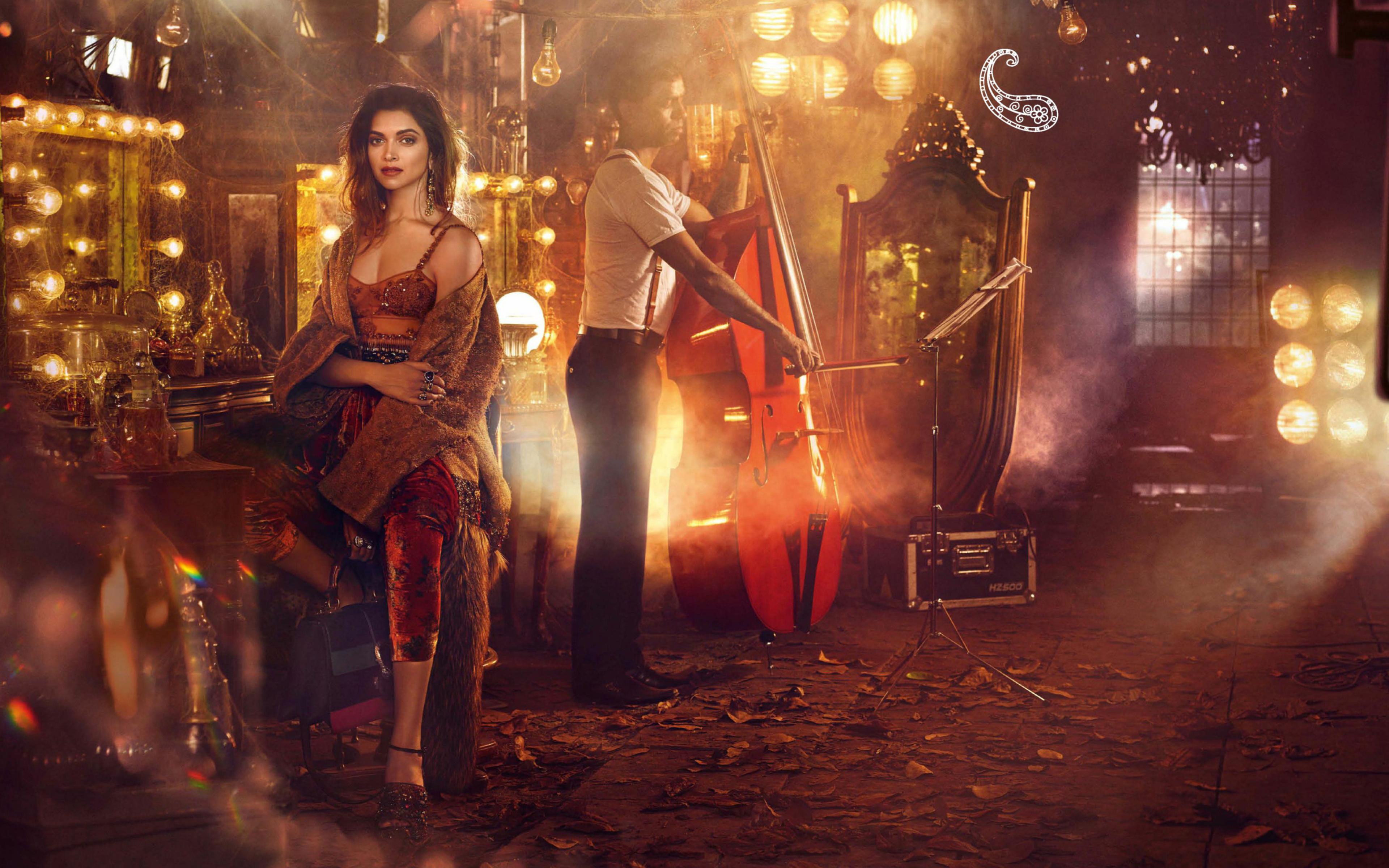Deepika Padukone Vogue Photoshoot 2016, HD Indian