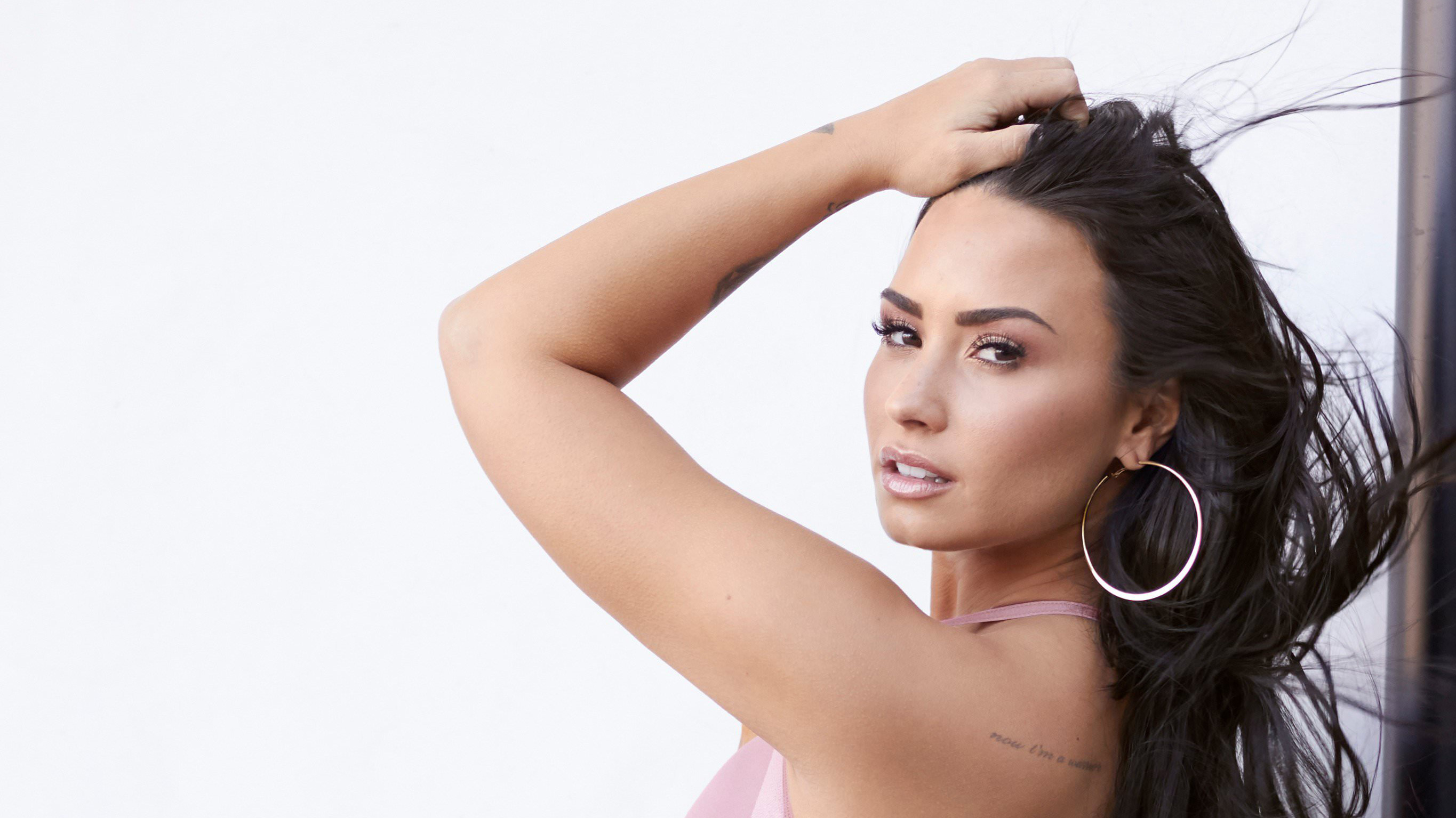 demi lovato 2018, hd music, 4k wallpapers, images, backgrounds