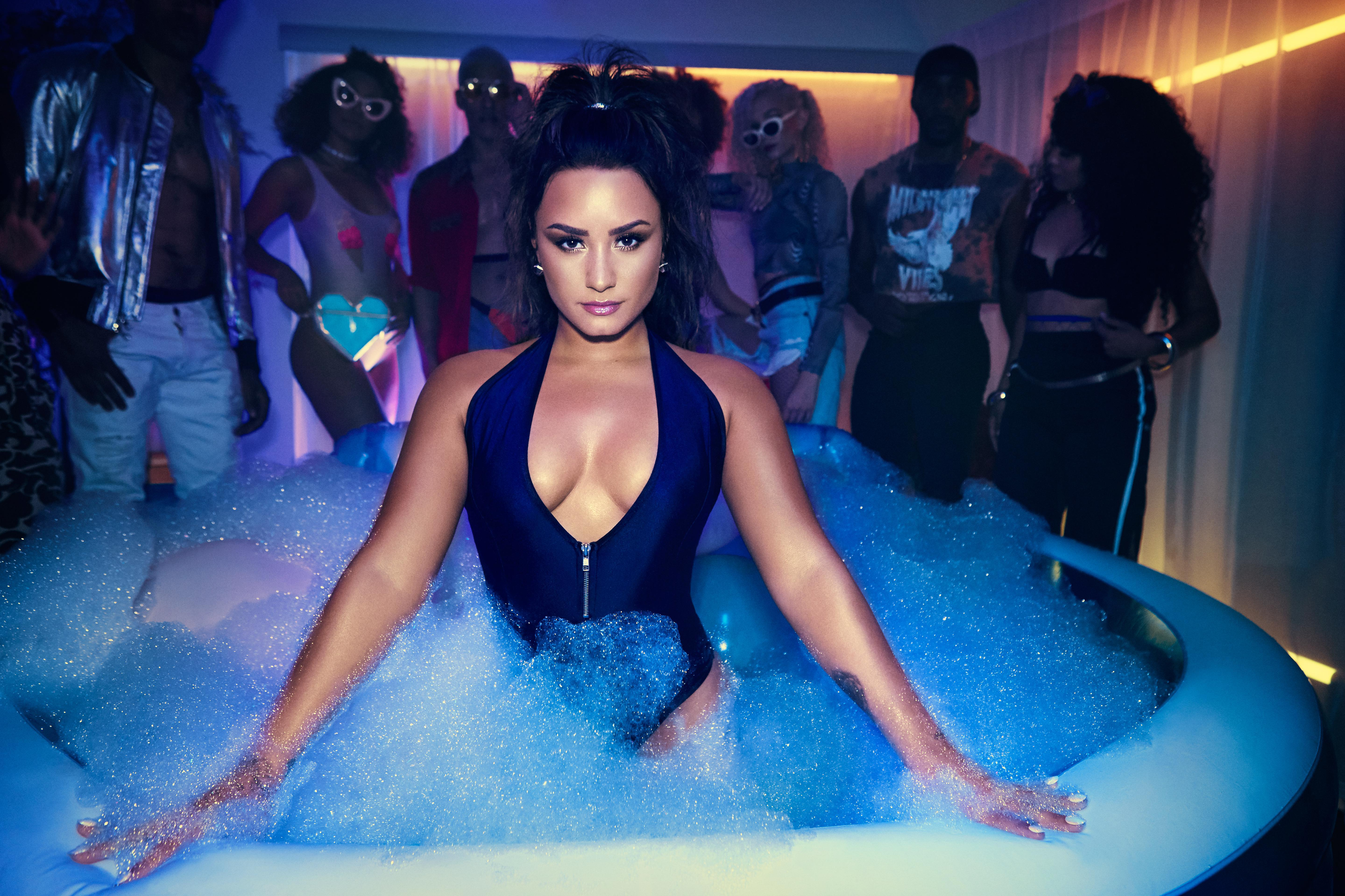 demi lovato 4k 2017, hd celebrities, 4k wallpapers, images