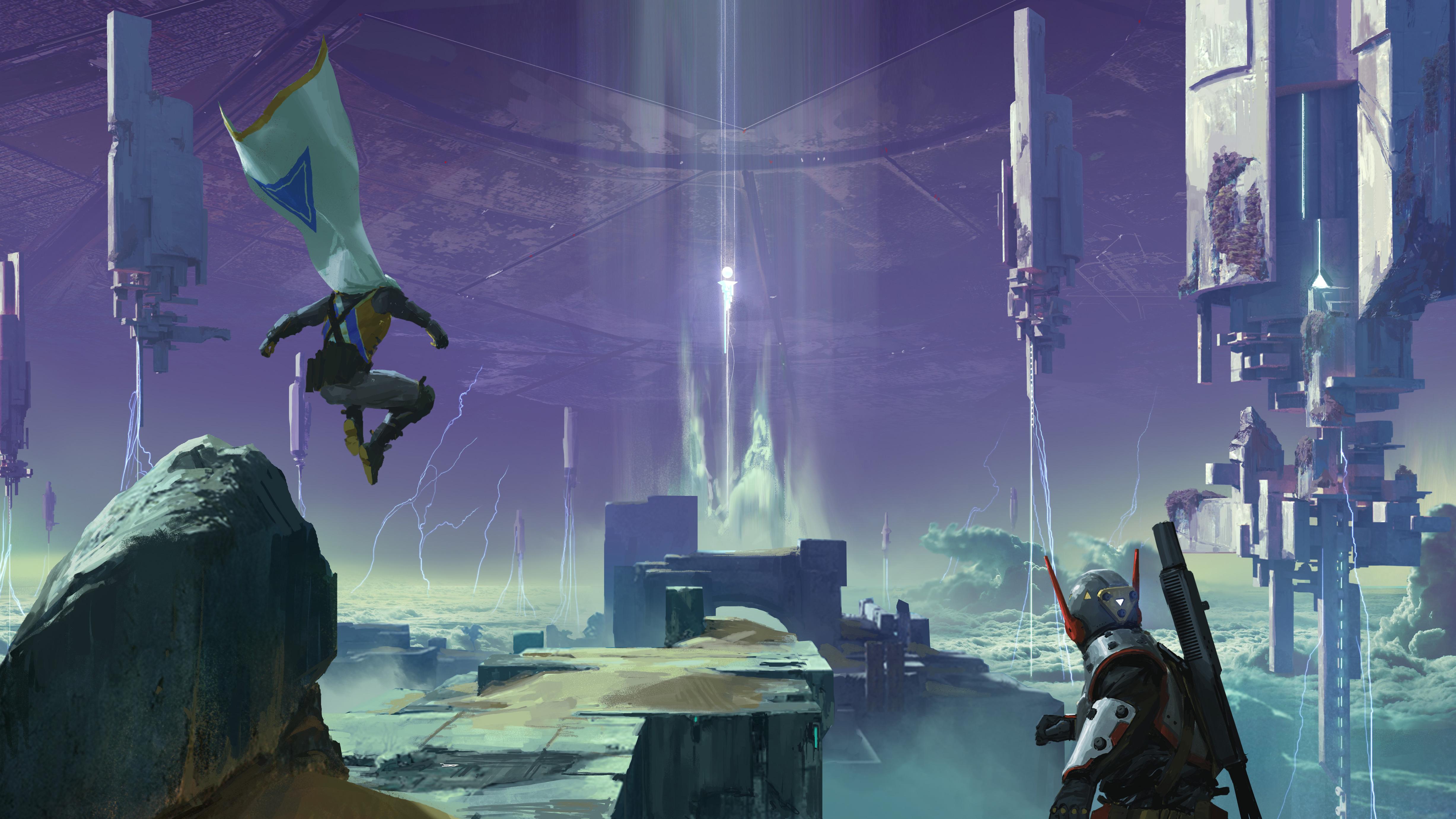 Destiny 2 Concept Art 5k, HD Games, 4k Wallpapers, Images