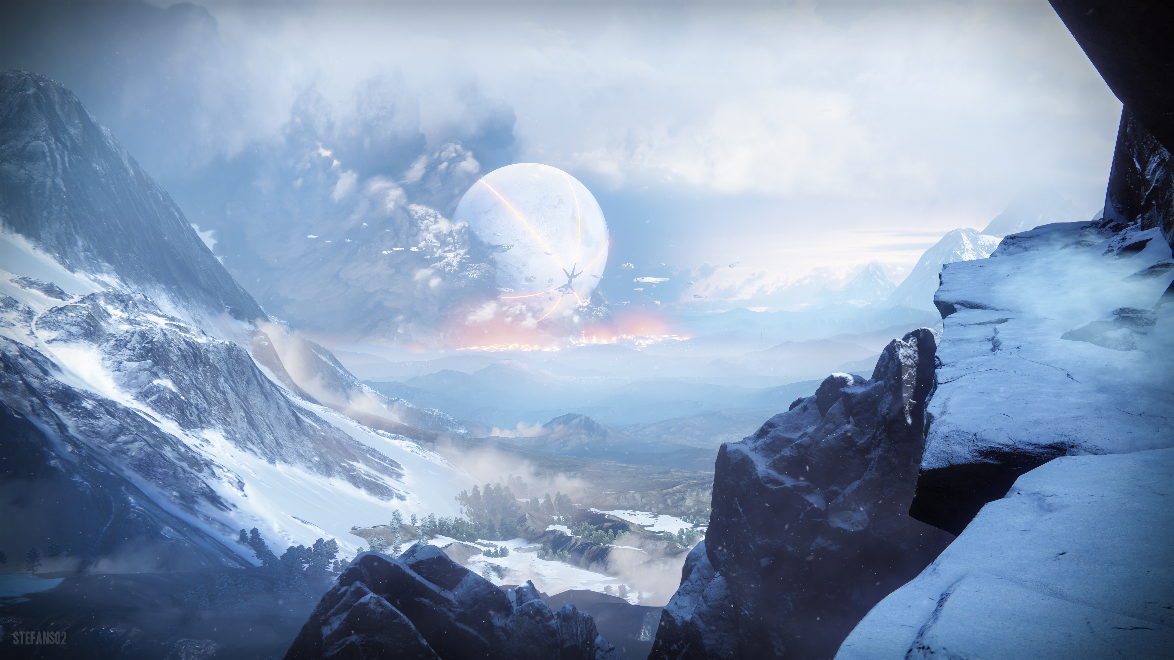 Destiny 2 Wallpaper 1920x1080: 1920x1080 Destiny 2 Off The Cliff 4k Laptop Full HD 1080P