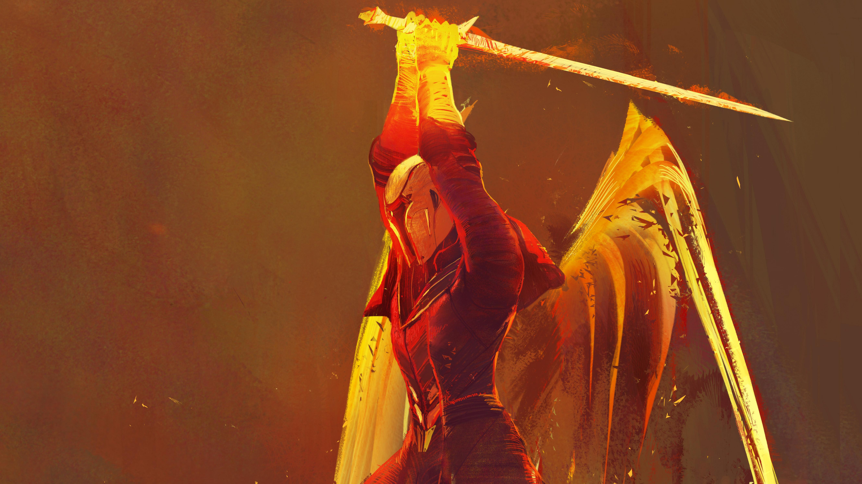 Destiny 2 warlock artwork hd games 4k wallpapers images - 4k destiny 2 wallpaper ...
