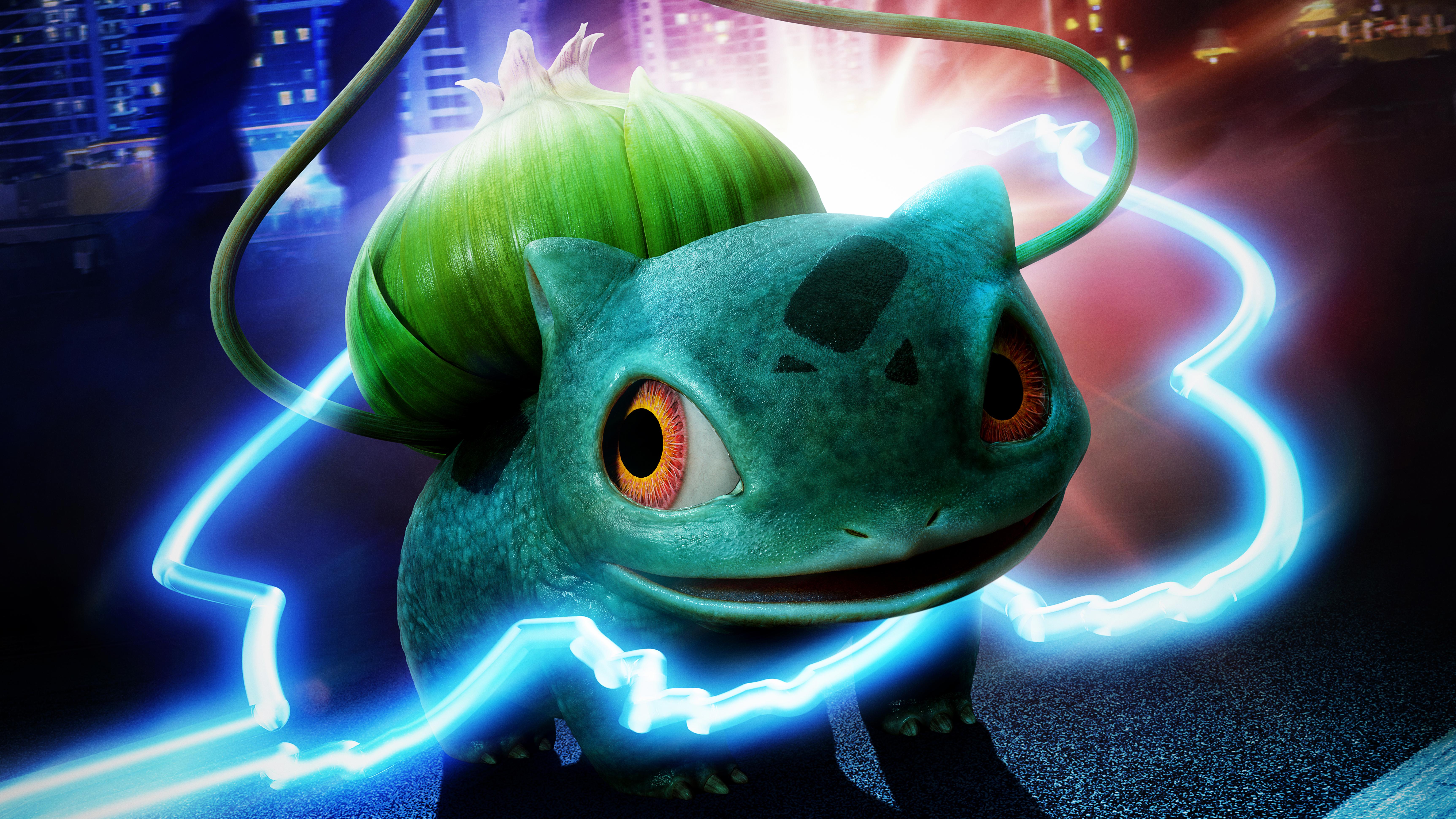 Detective Pikachu Bulbasaur 5k Hd Movies 4k Wallpapers