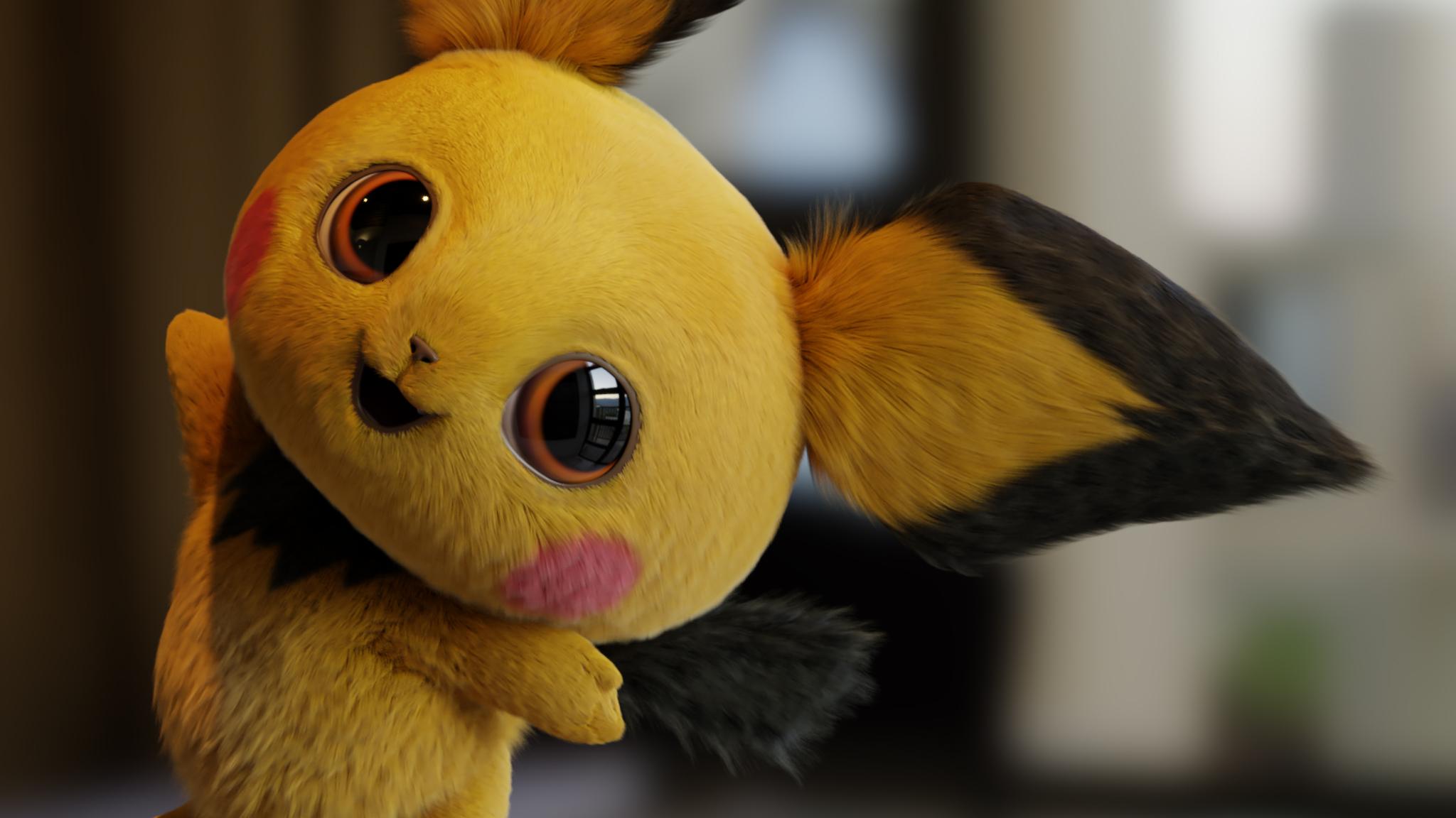 detective pikachu movie fanart hd movies 4k wallpapers