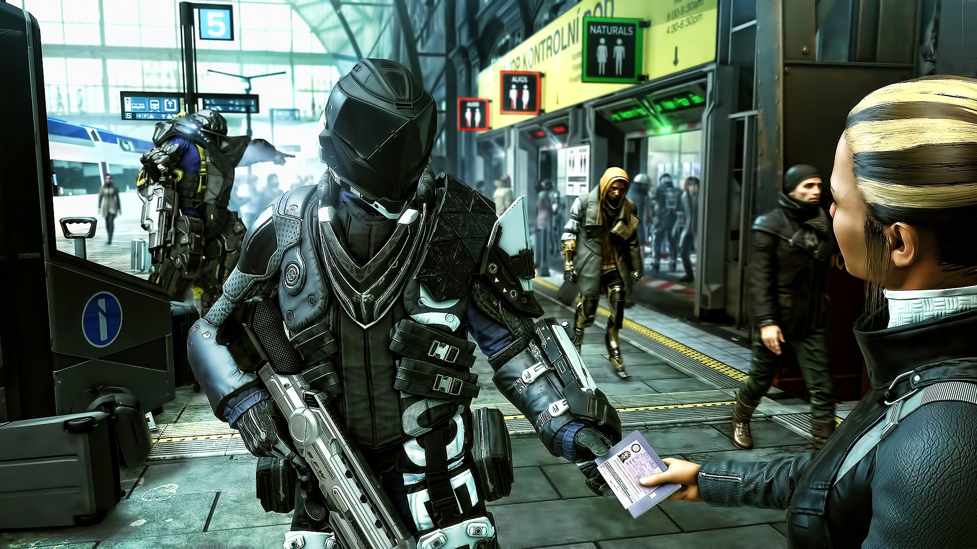 Deus Ex Mankind Divided Game 2016