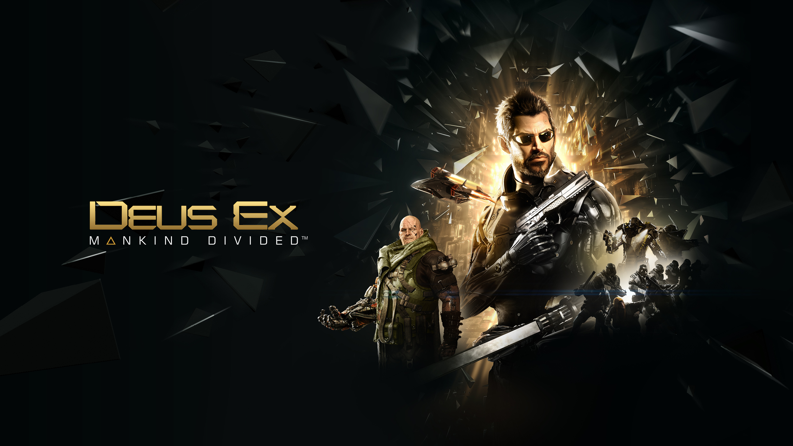 Deus Ex Mankind Laptop HD