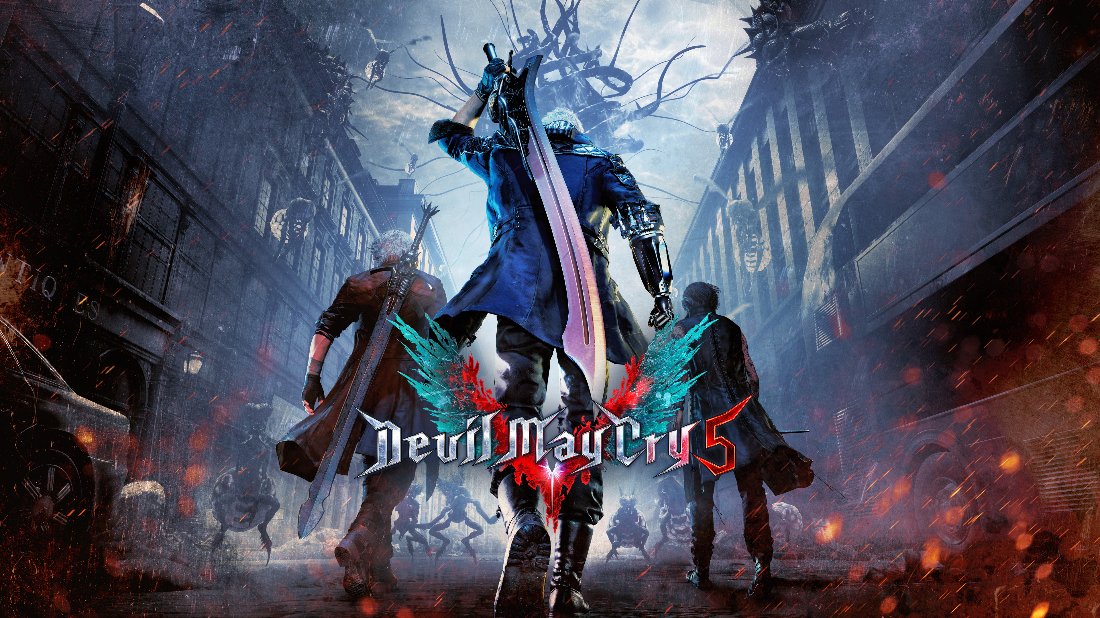 devil may cry 5 4k, hd games, 4k wallpapers, images, backgrounds