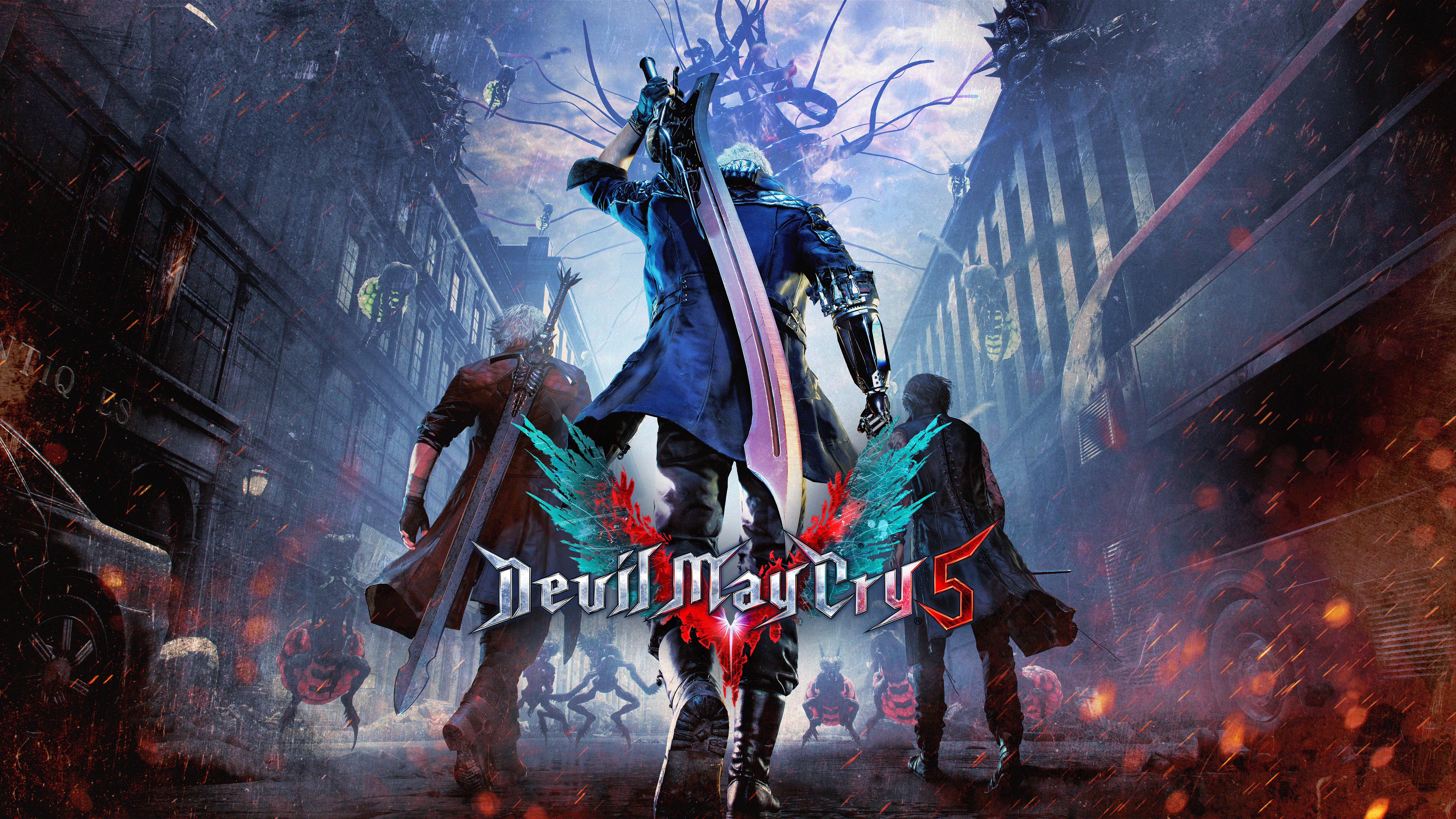 devil may cry 5 8k, hd games, 4k wallpapers, images, backgrounds