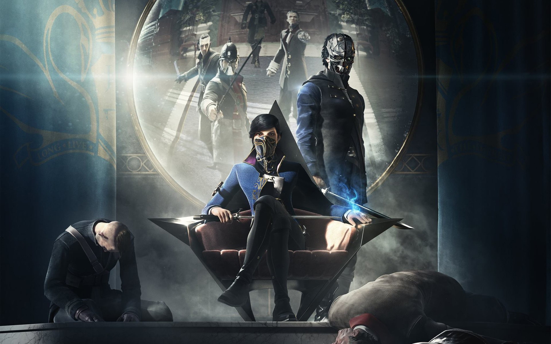 Dishonored 2 2016 2, HD Games, 4k Wallpapers, Images