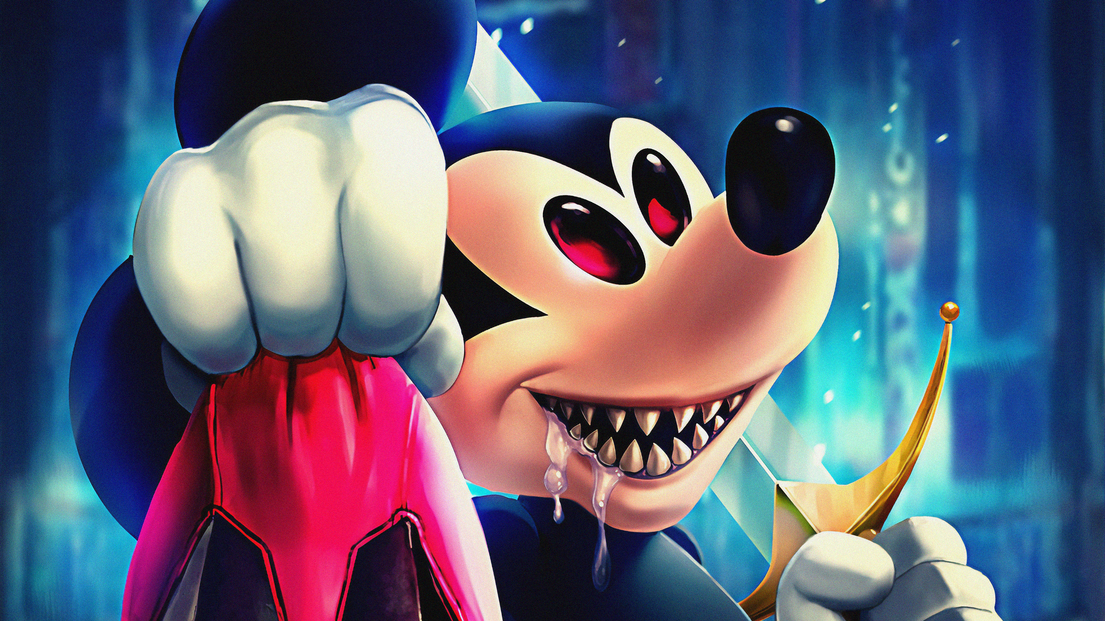 Evil Disney Evil Mickey Cartoons 4k Images