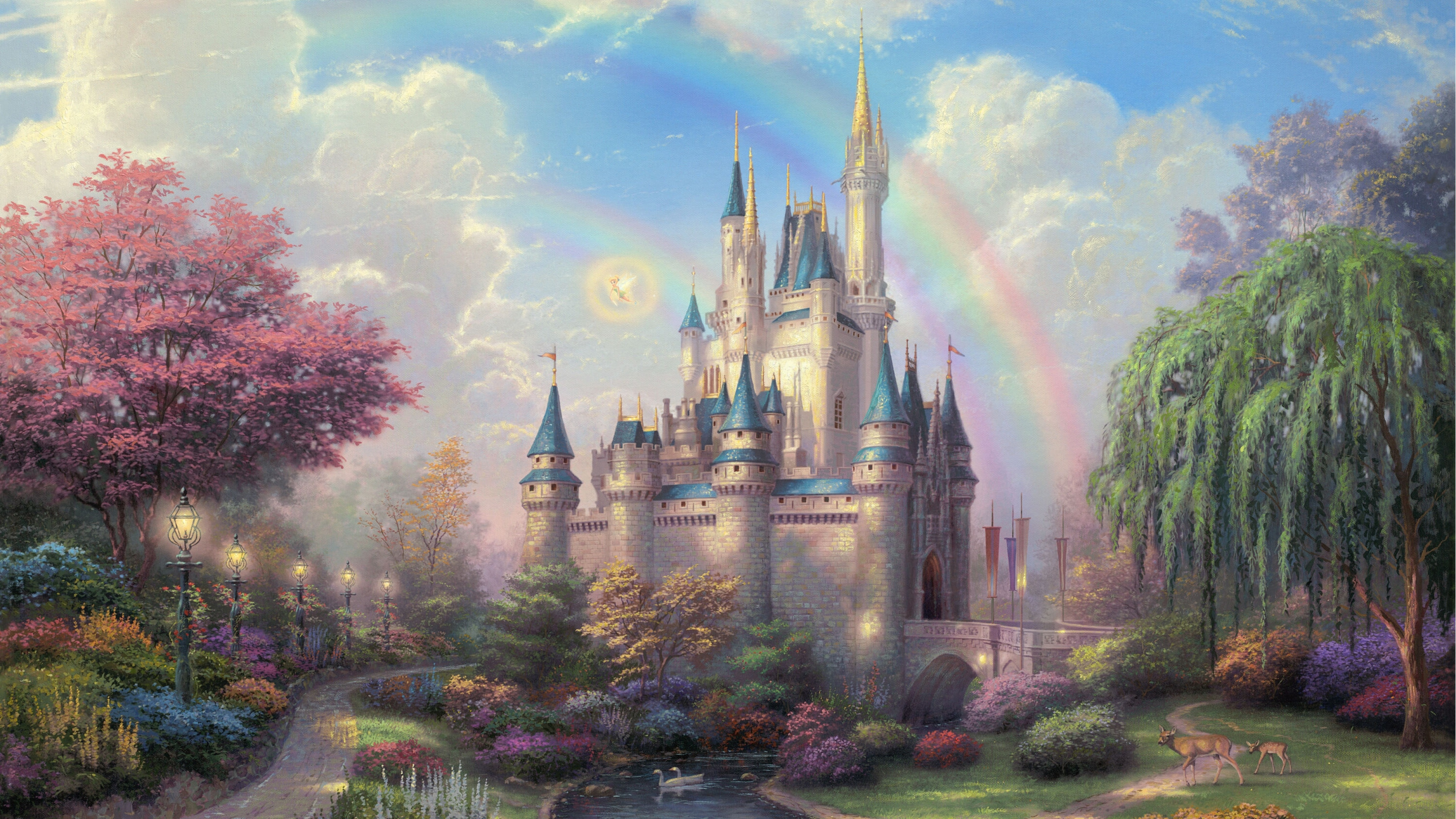 Disneyland Park Art 1280x1024 Resolution