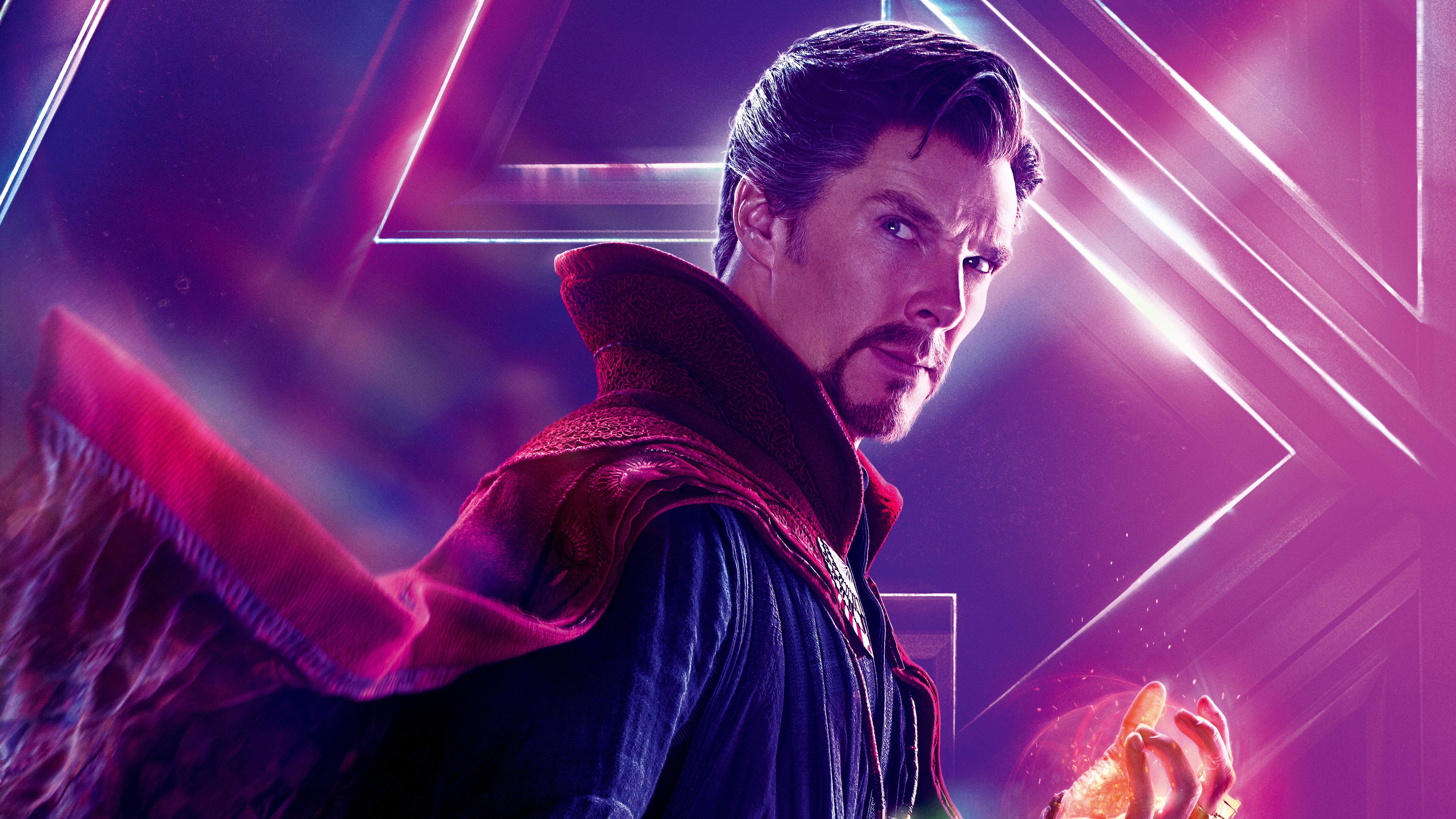 Shuri In Avengers Infinity War New Poster Hd Movies 4k: Doctor Strange In Avengers Infinity War 8k Poster, HD