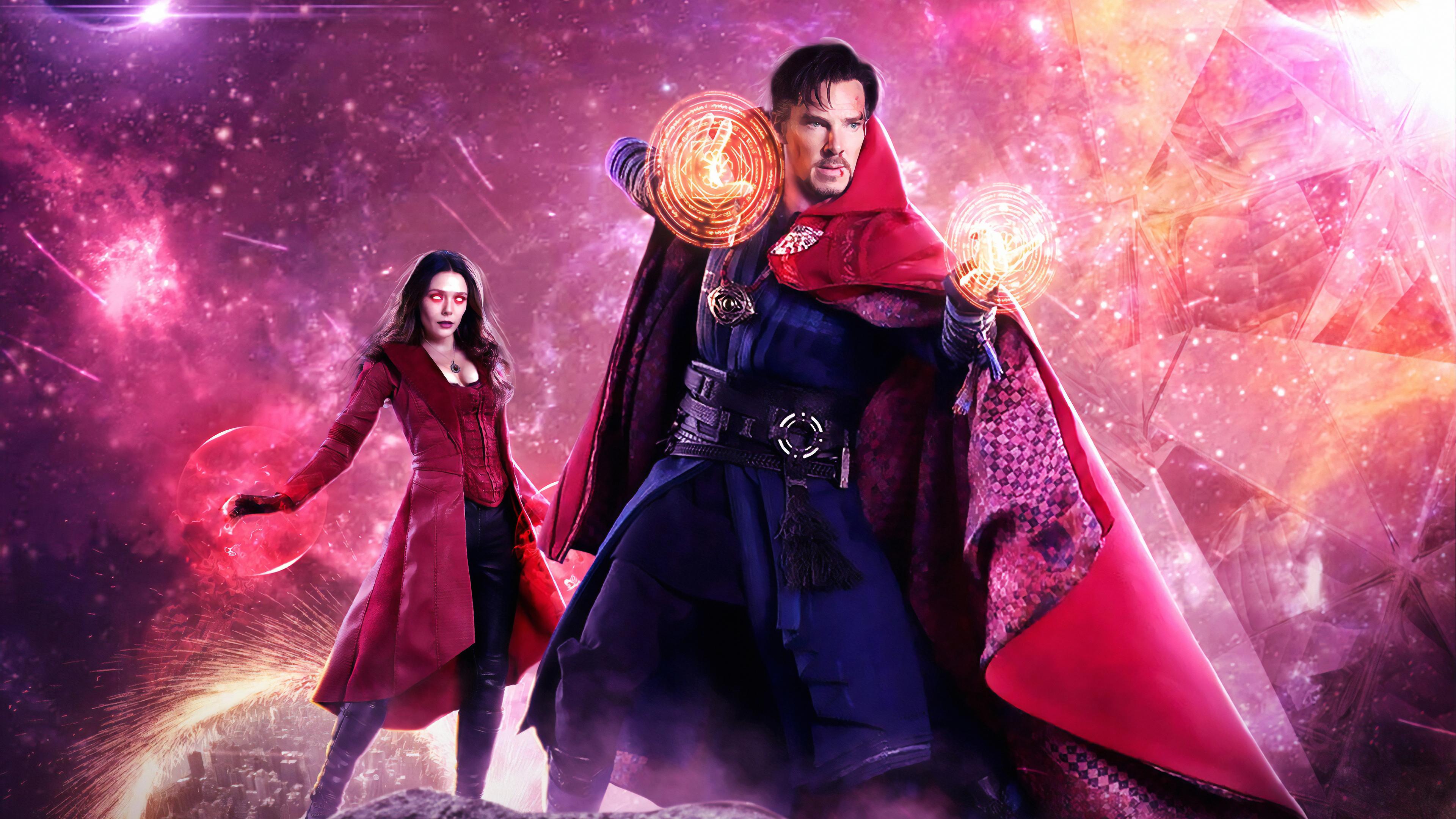 Doctor Strange In The Multiverse Of Madness 4k Art Hd