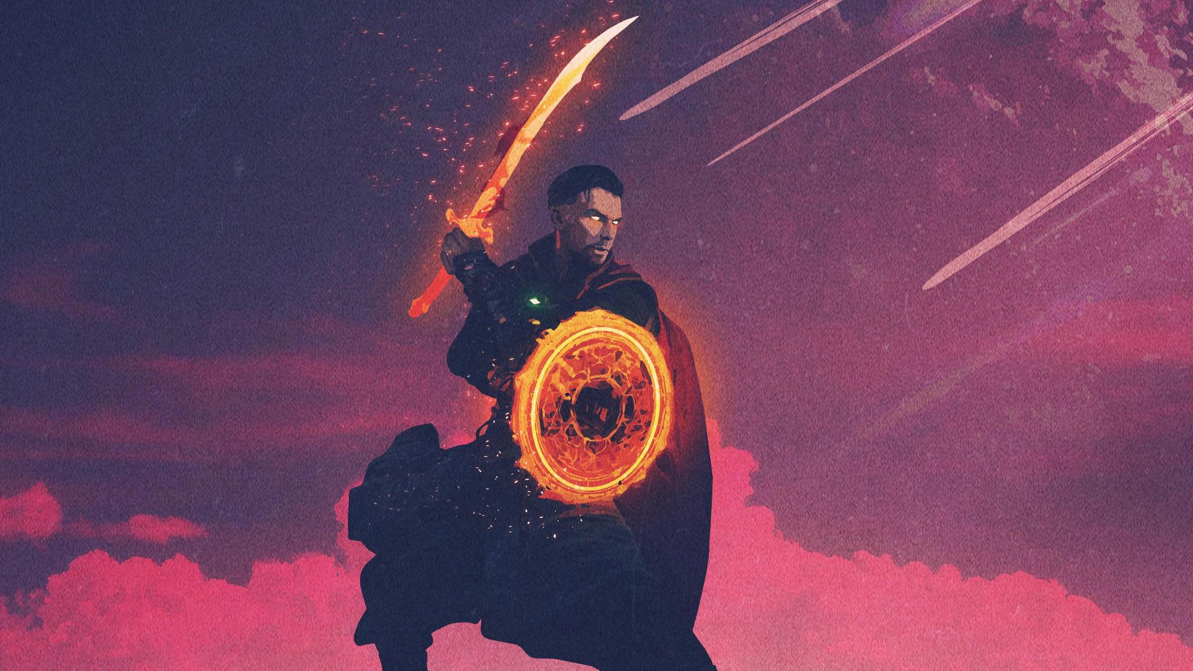 Doctor Strange Minimal Hd Superheroes 4k Wallpapers