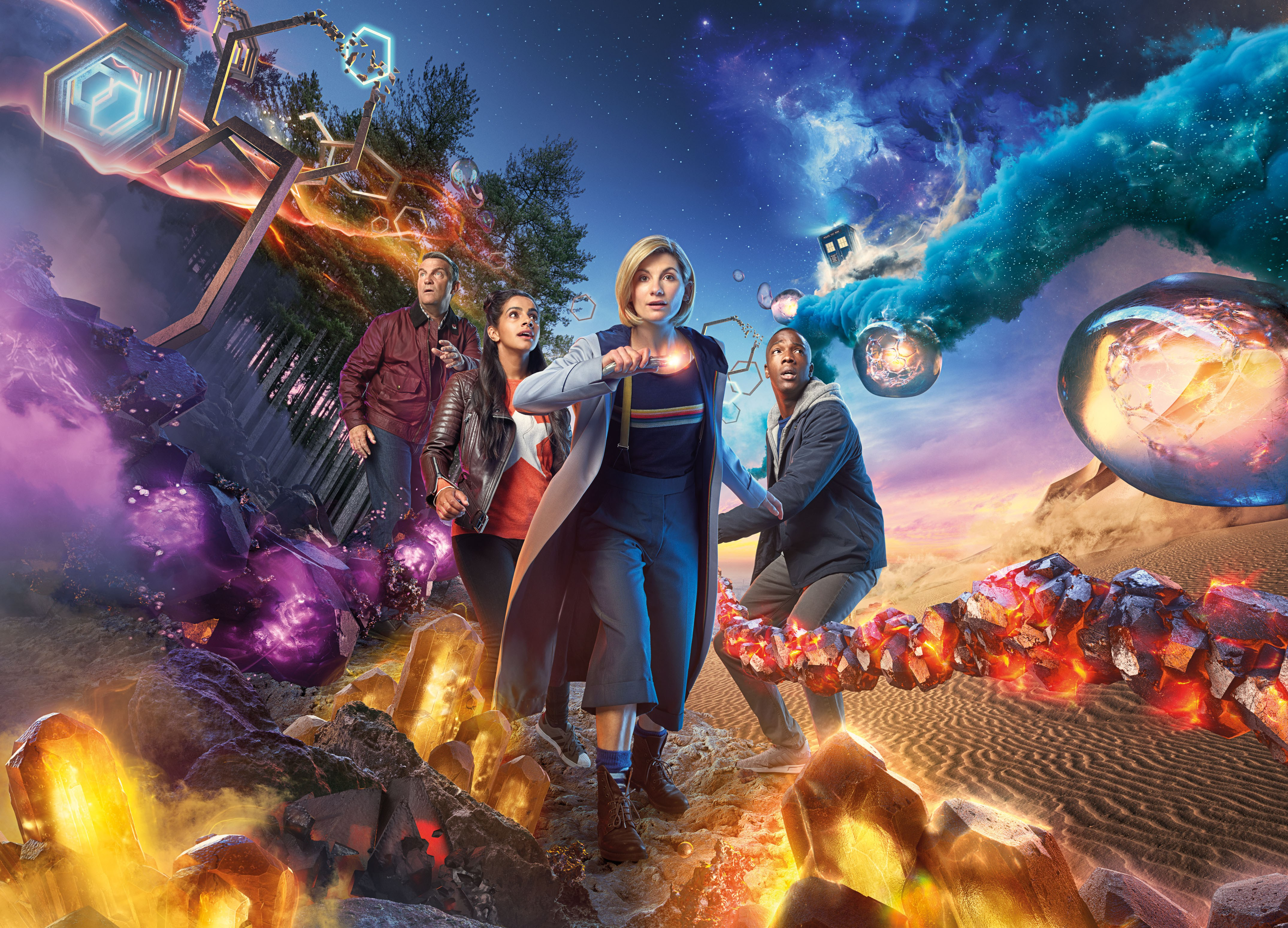 Doctor who season 11 4k 2018 hd tv shows 4k wallpapers - Tv series wallpaper 4k ...