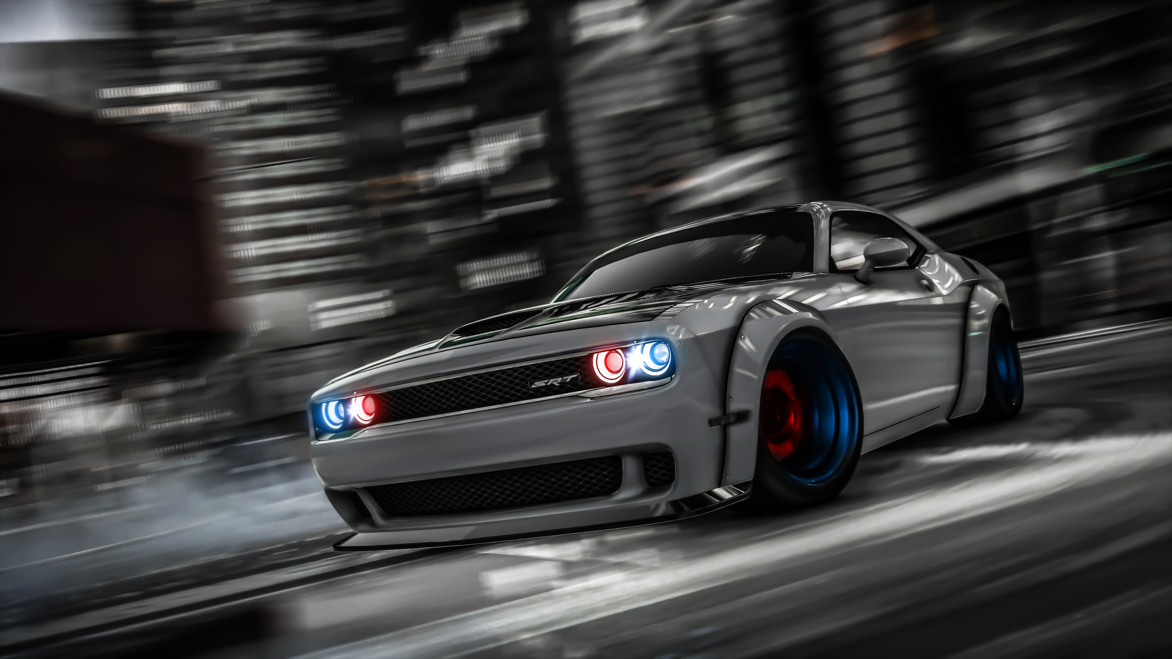 Dodge Challenger Drifting Gta V Hd Games 4k Wallpapers